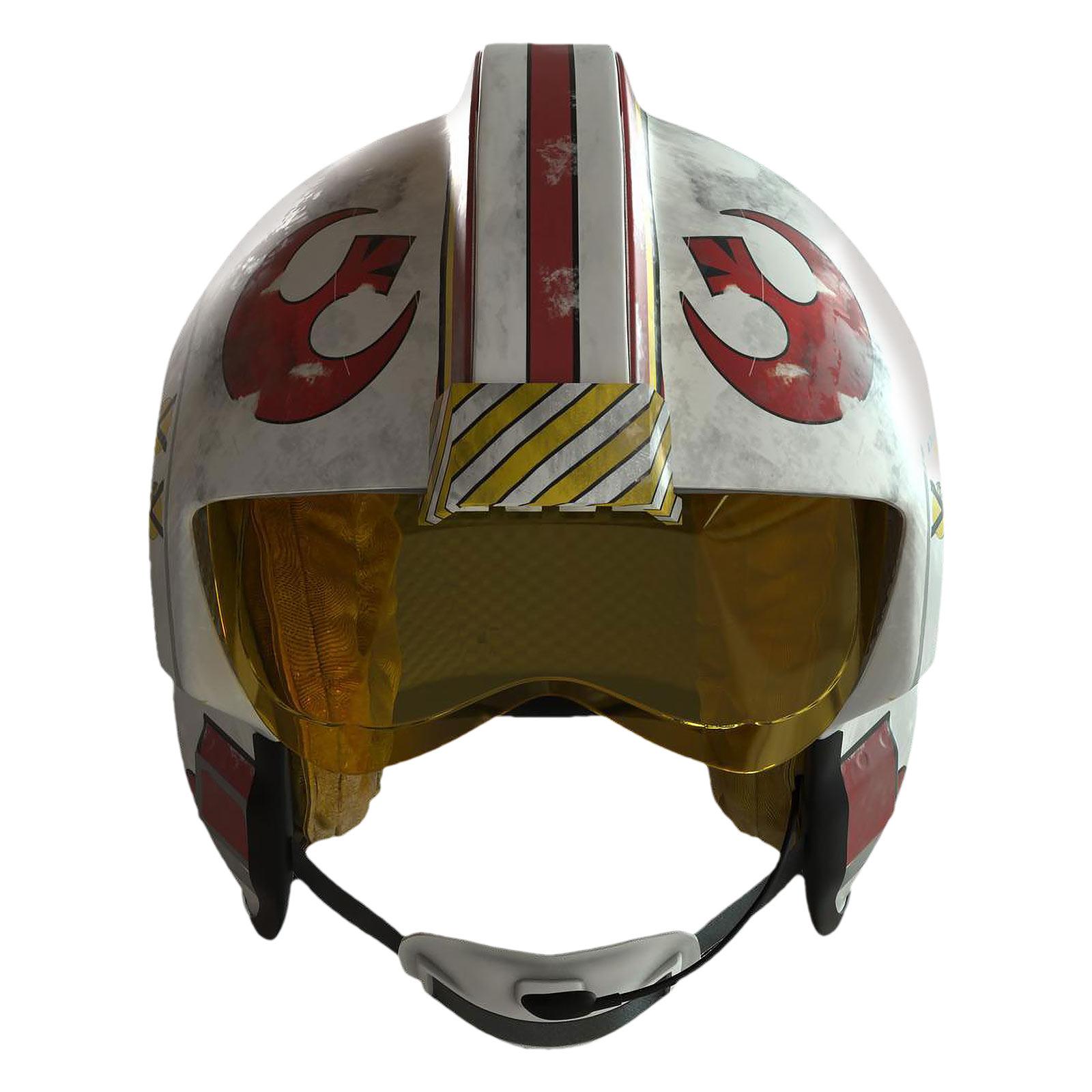 Star Wars - Luke Skywalker Helm Replik mit Licht- und Soundeffekten