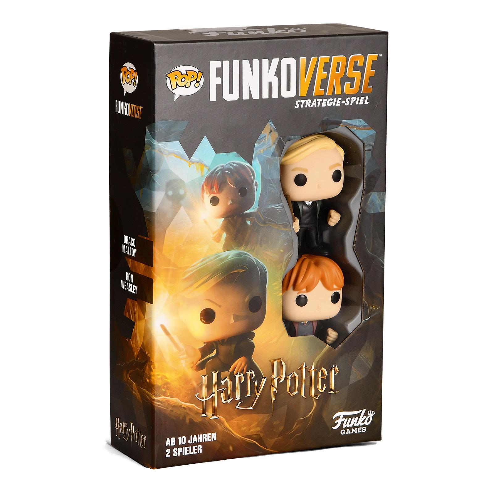 Harry Potter - Draco und Ron Funkoverse Brettspiel
