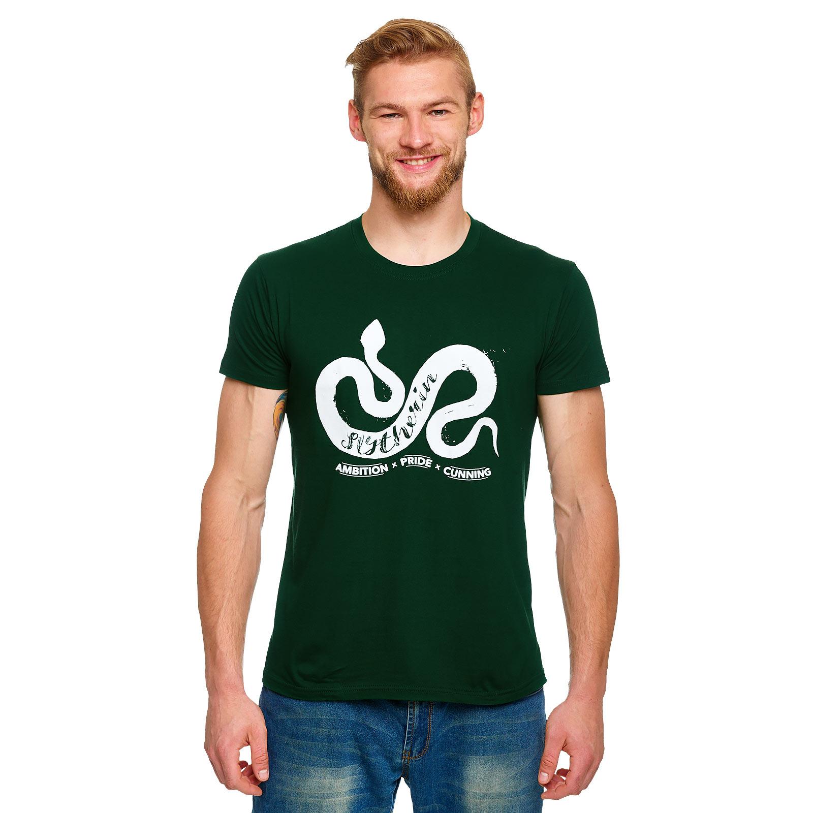 Harry Potter - Slytherin House Pride T-Shirt grün