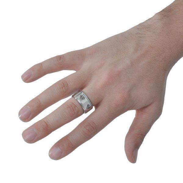 Superman - Symbol Ring