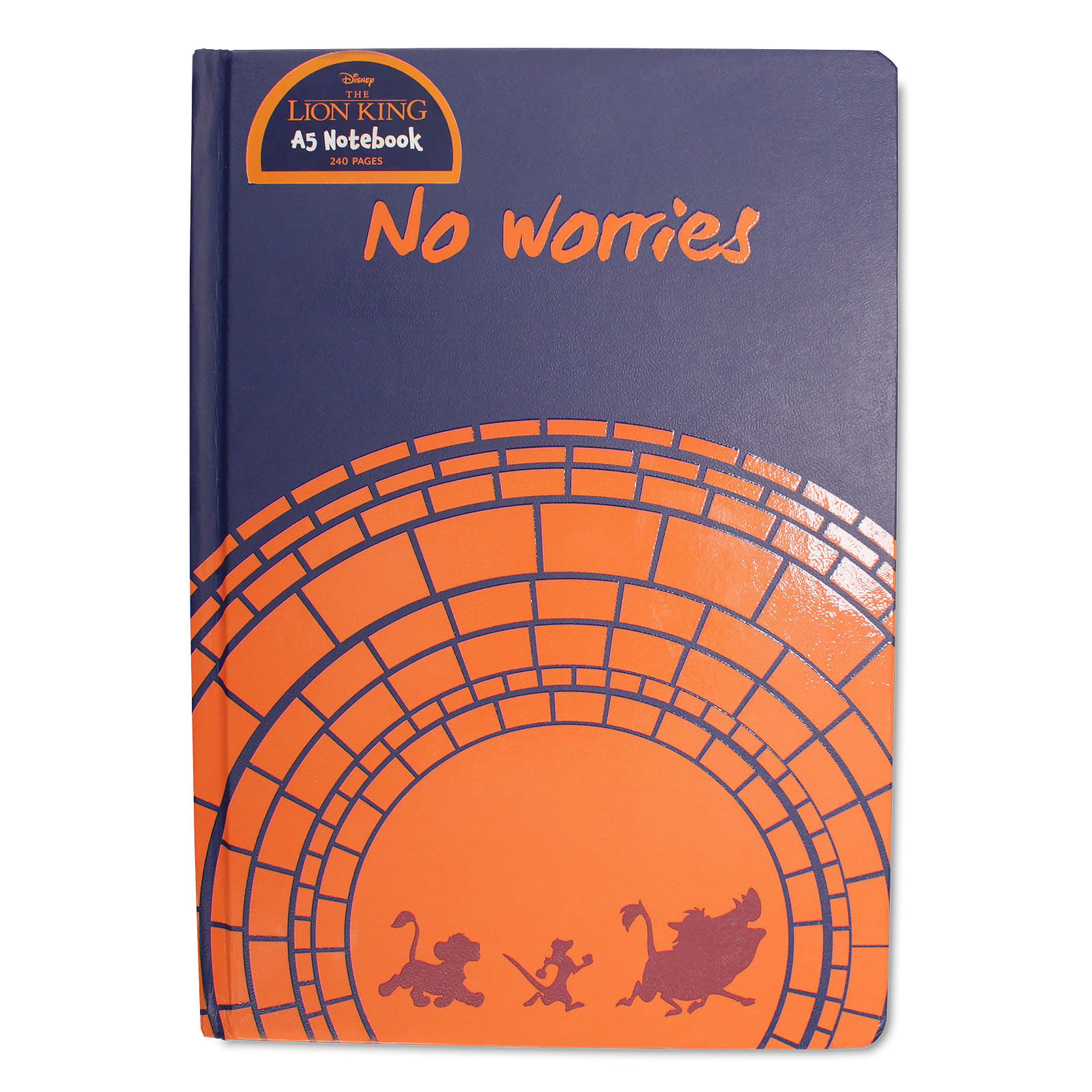 König der Löwen - No Worries Notizbuch A5