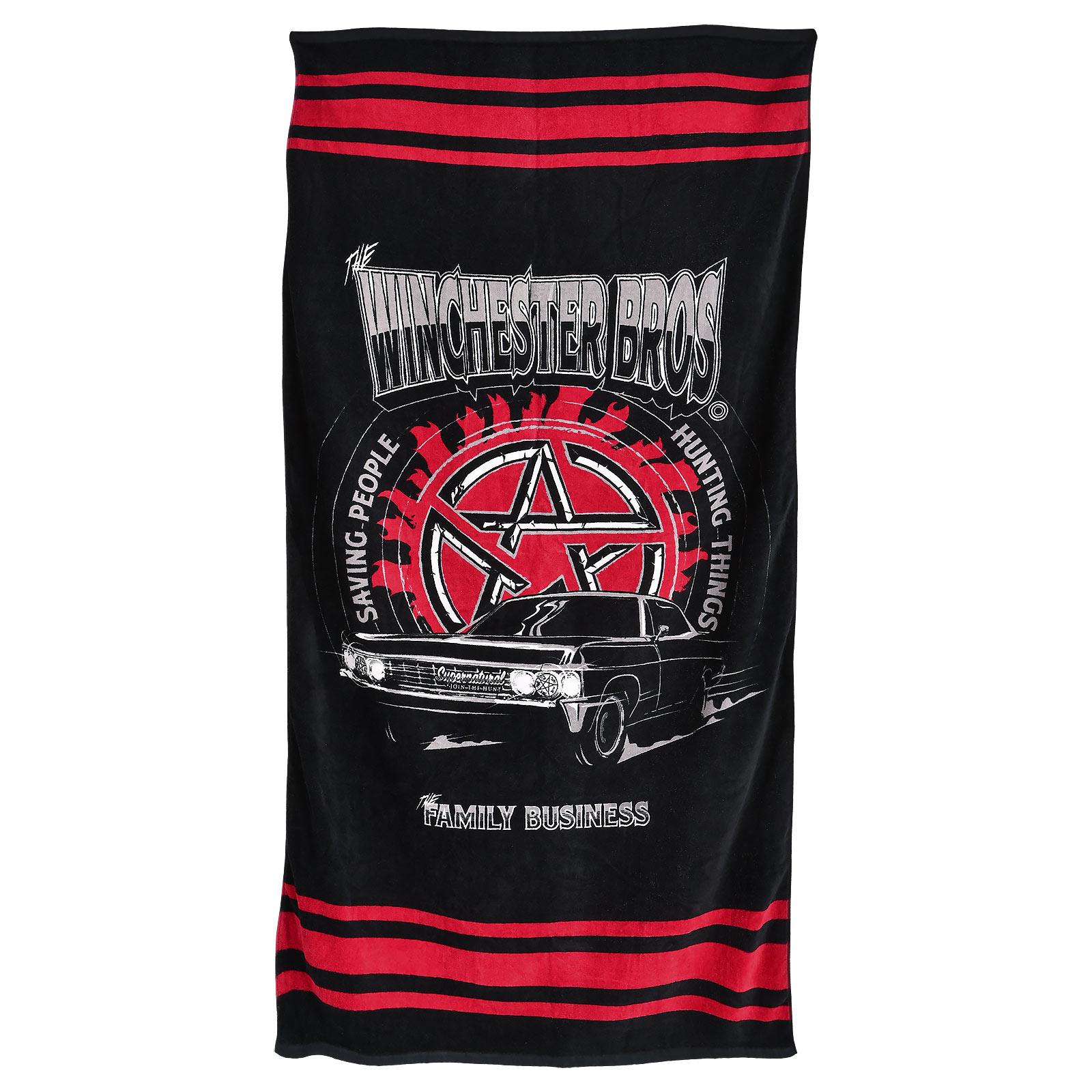 Supernatural - Winchester Bros Impala Strandtuch