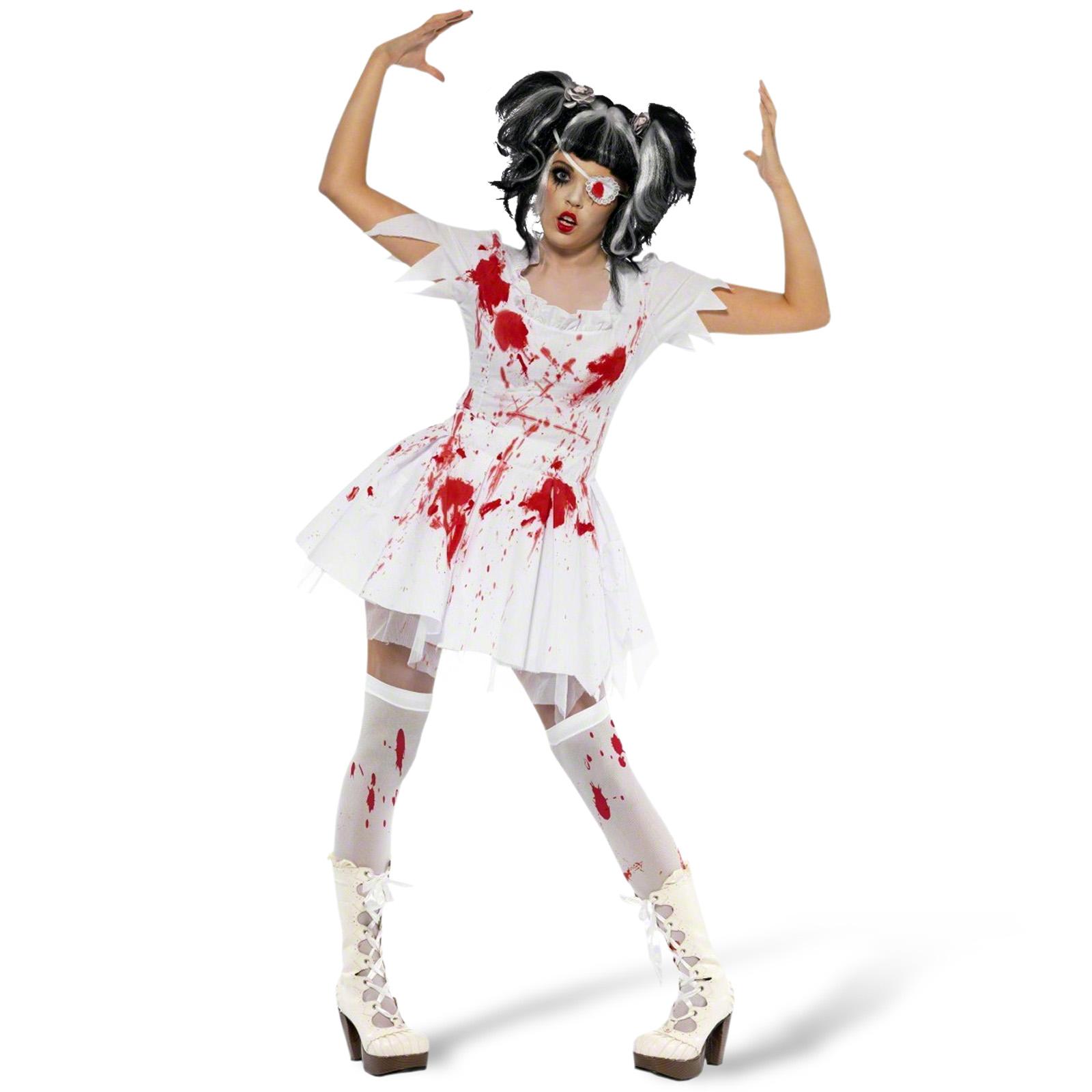Zombielady Kostüm Damen