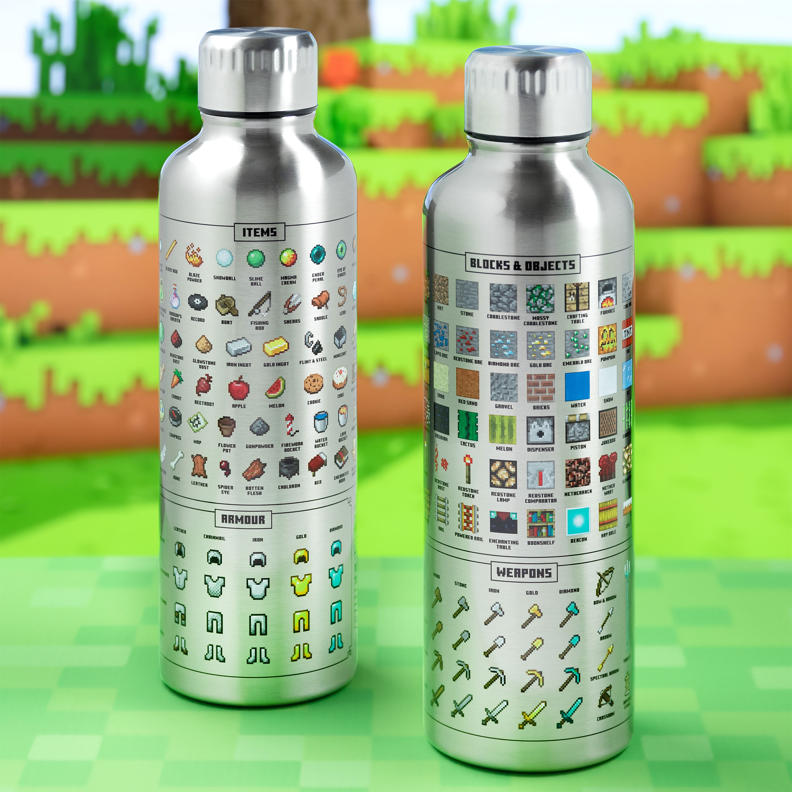 Minecraft - Icons Trinkflasche