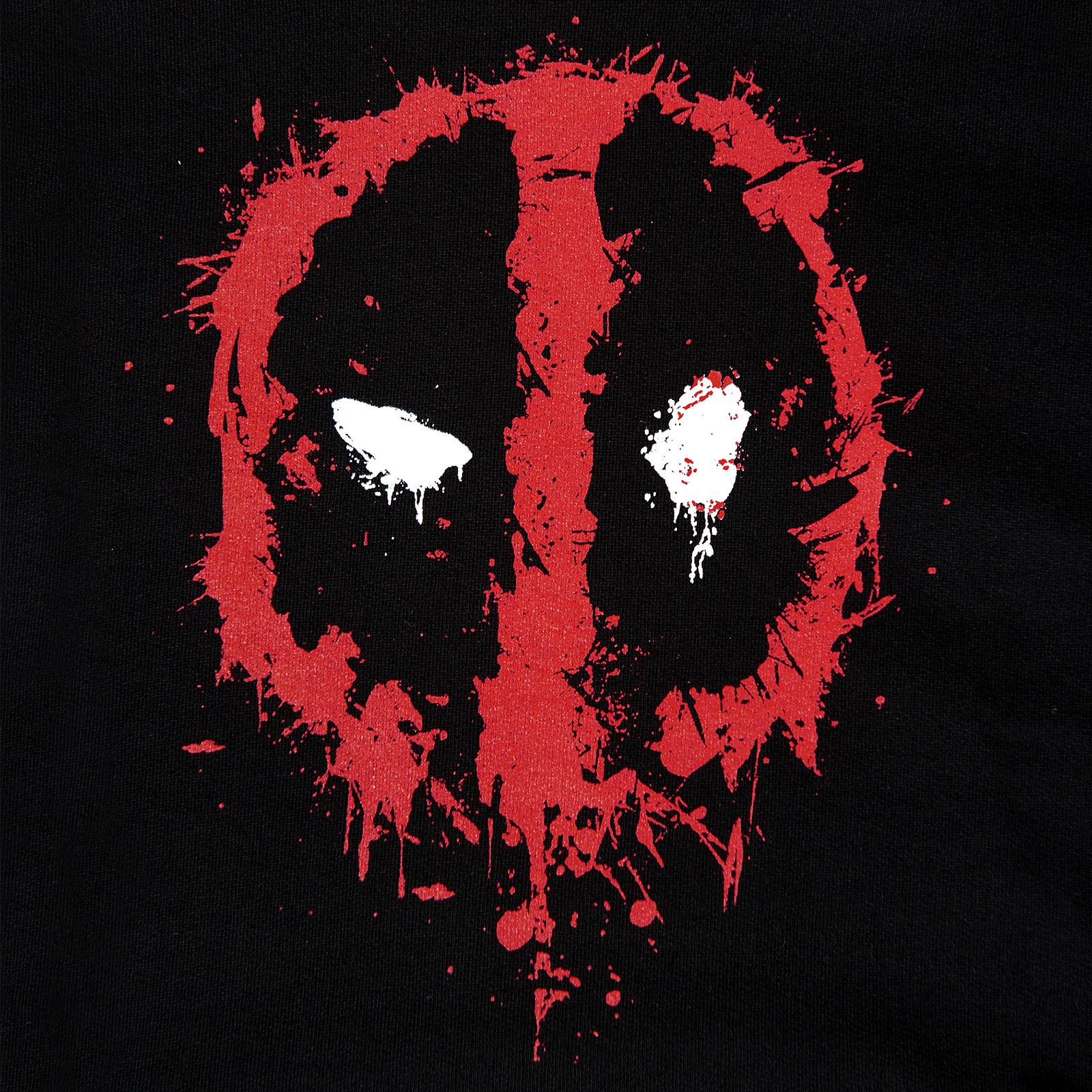 Deadpool - Logo Hoodie schwarz
