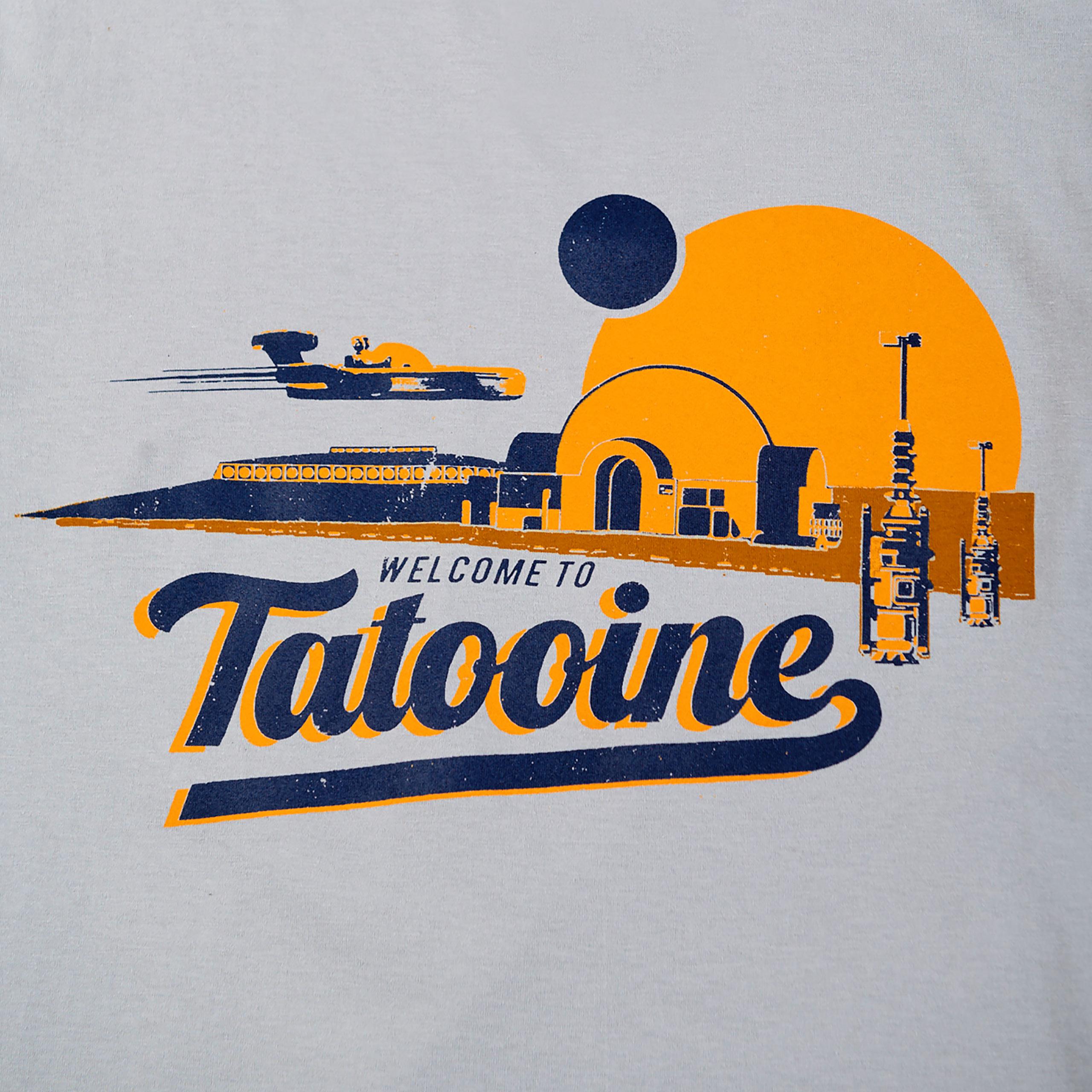 Star Wars - Welcome to Tatooine T-Shirt grau