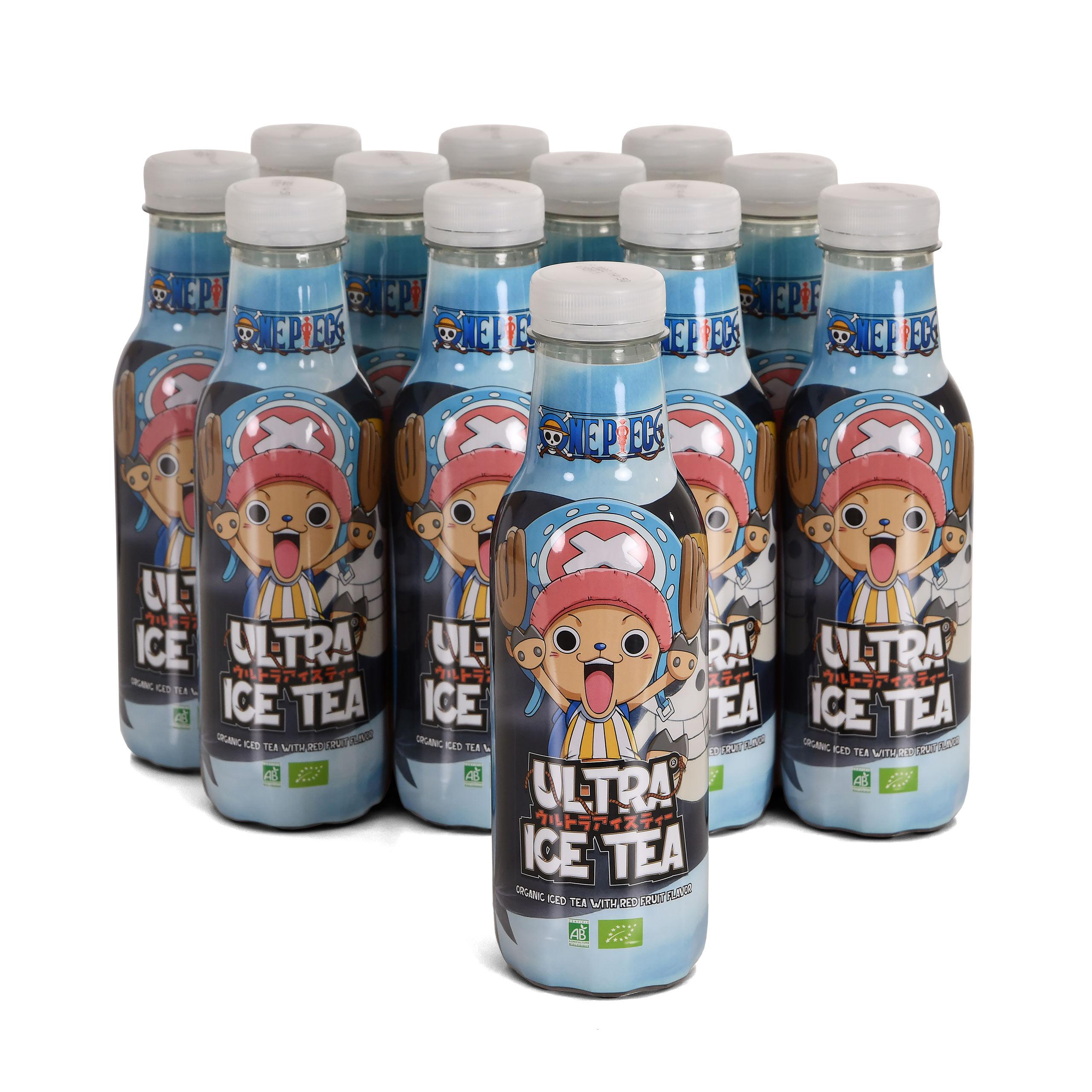 One Piece - Chopper Ultra Bio Eistee Rote Früchte 12er Pack