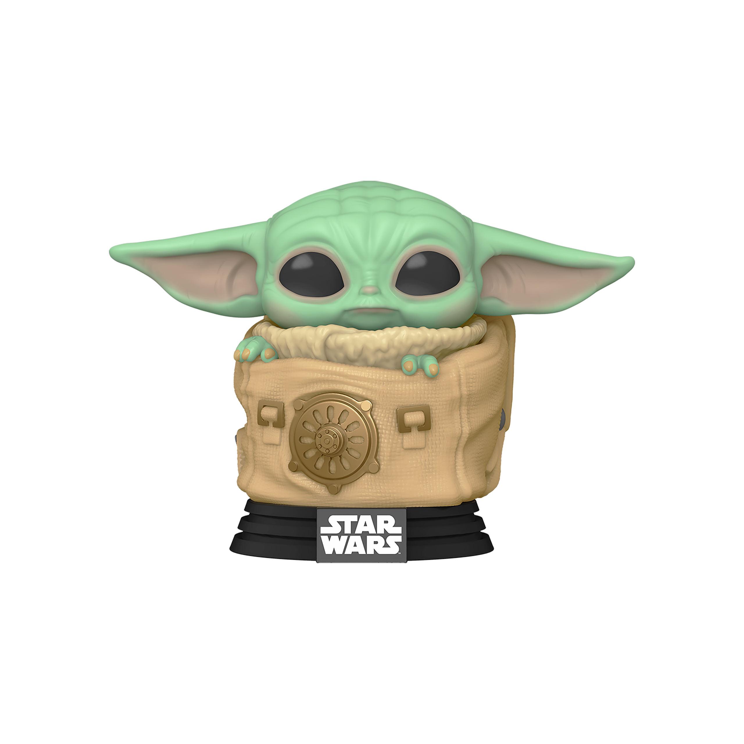The Child in Tasche Funko Pop Wackelkopf-Figur - Star Wars The Mandalorian