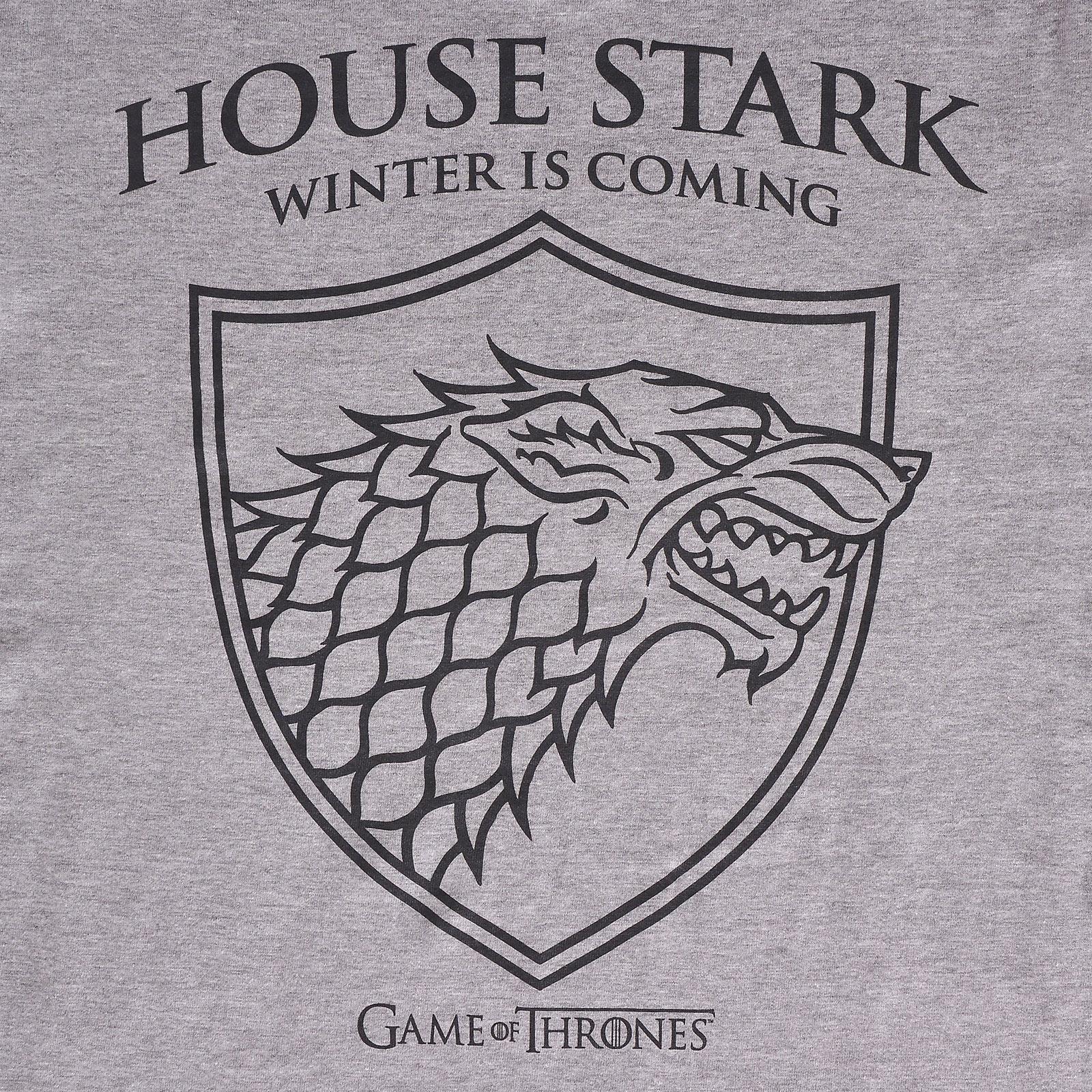 Game of Thrones - Schattenwolf T-Shirt grau