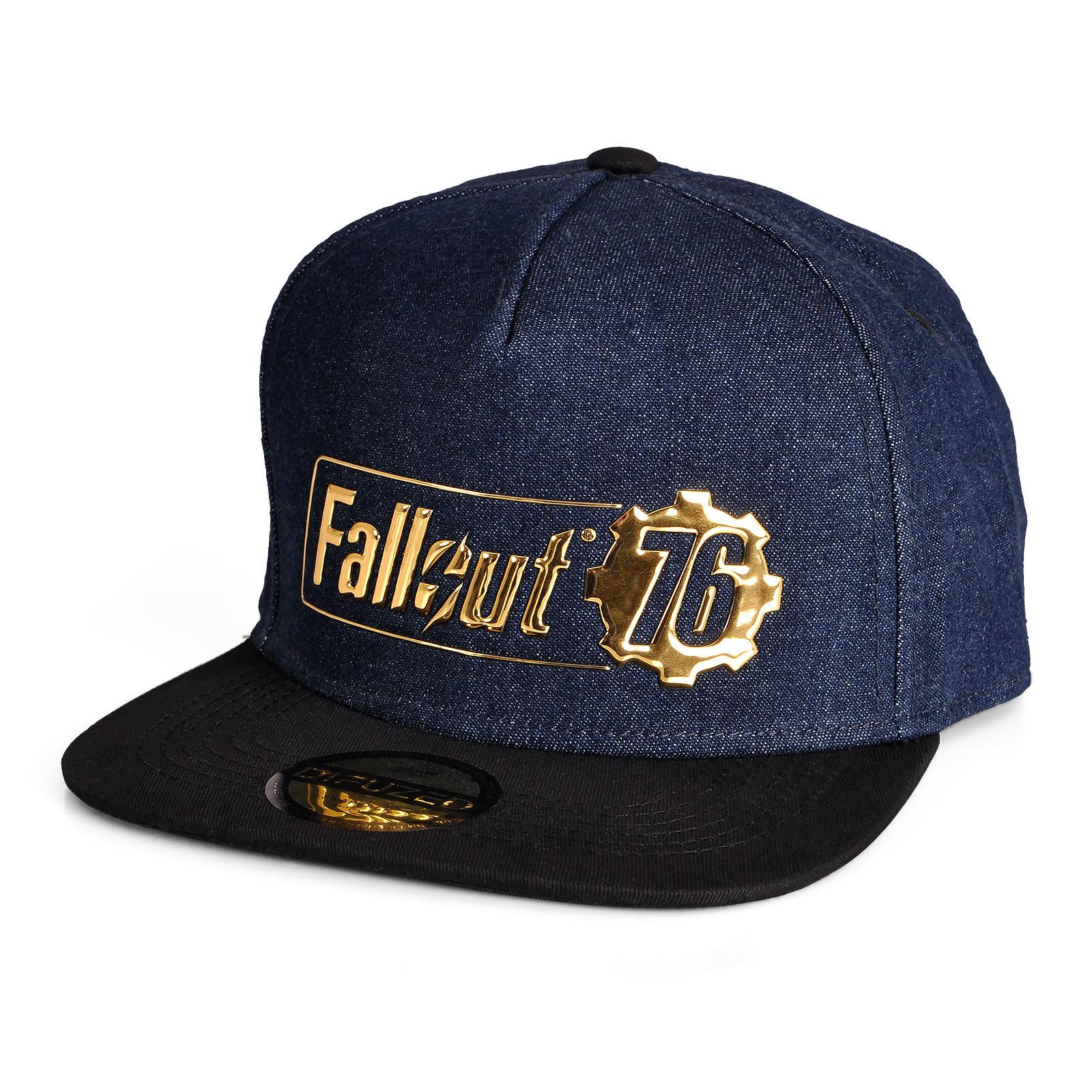 Fallout 76 Logo Snapback Cap