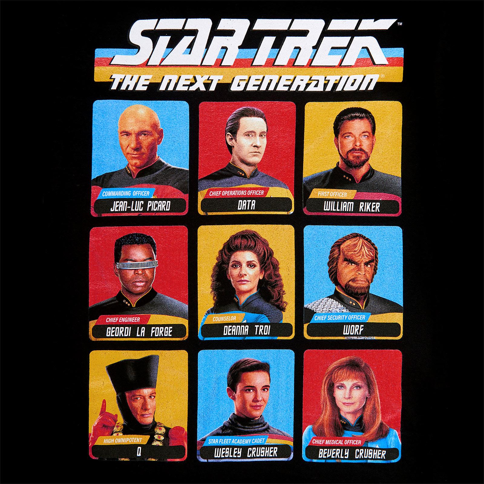 Star Trek - The Next Generation T-Shirt schwarz