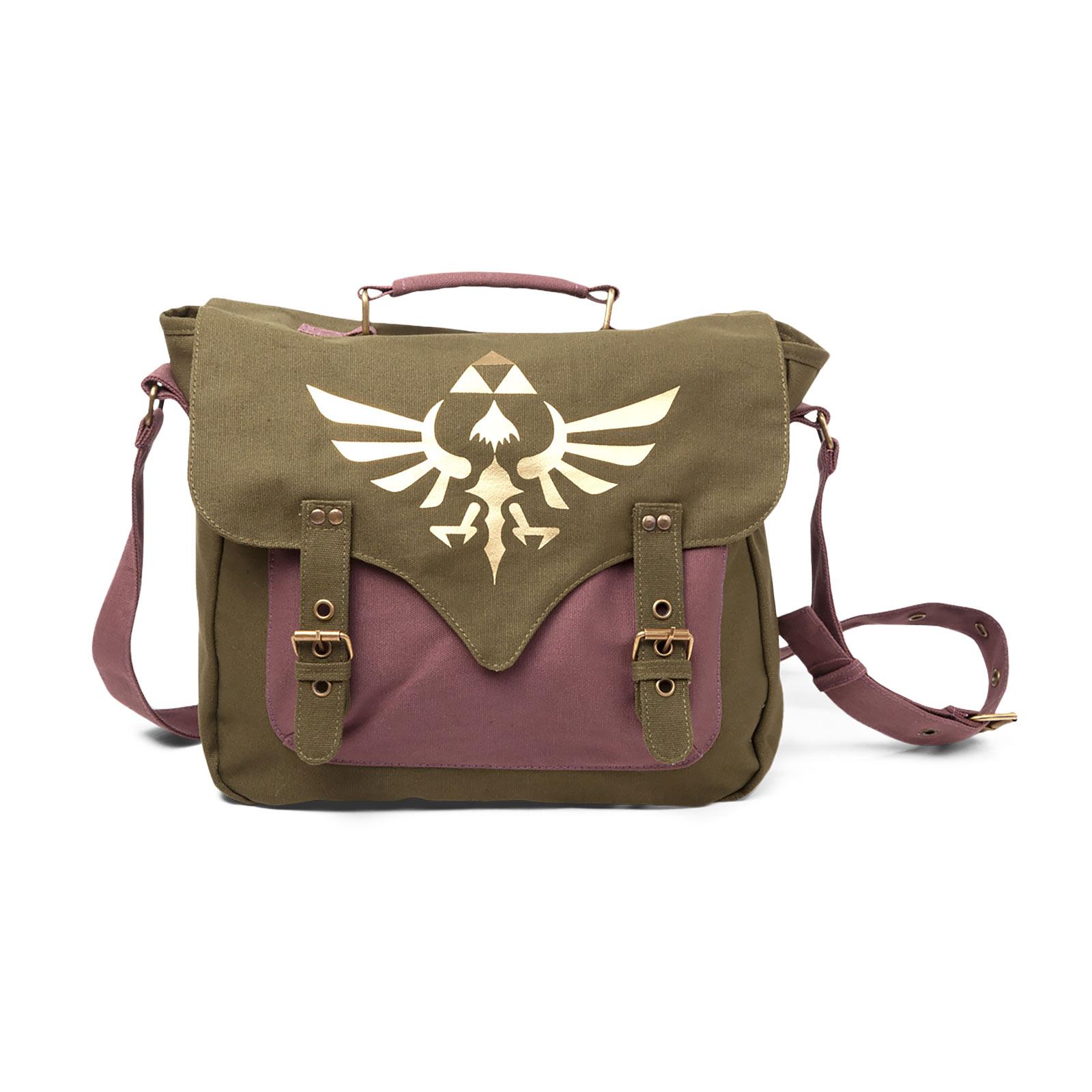 Zelda - Golden Triforce Logo Messenger Bag