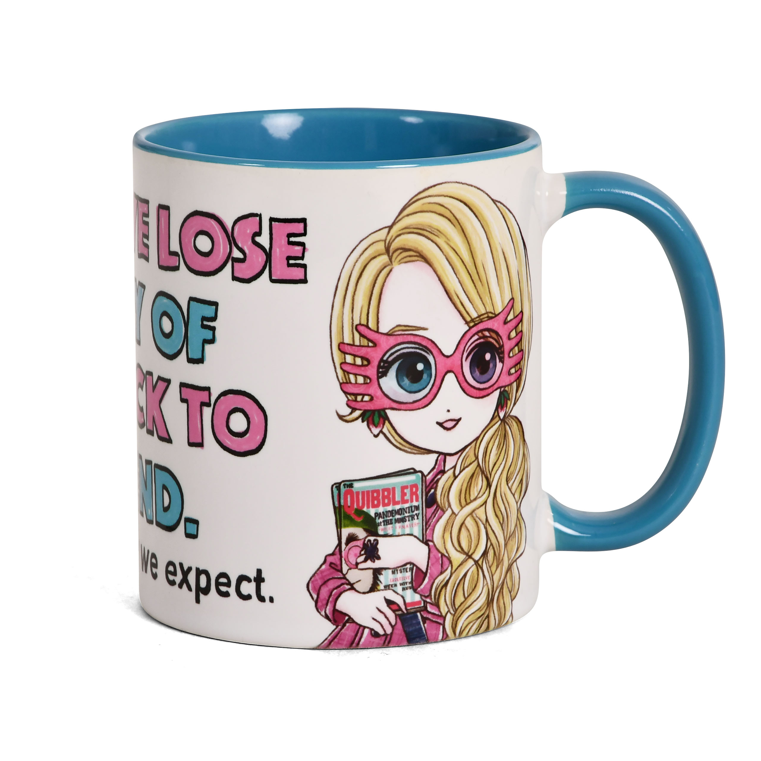 Luna The Things We Lose Come Back Tasse - Harry Potter