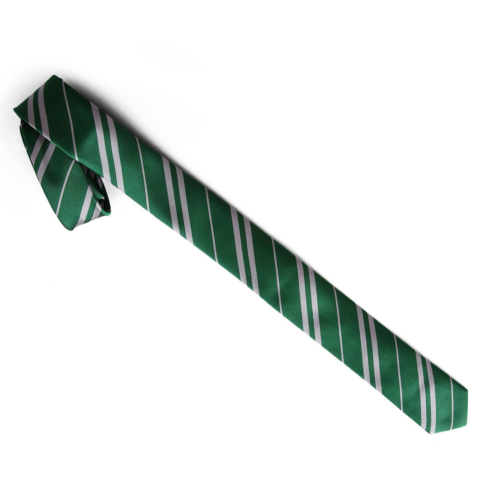 Harry Potter - Schmale Slytherin Krawatte