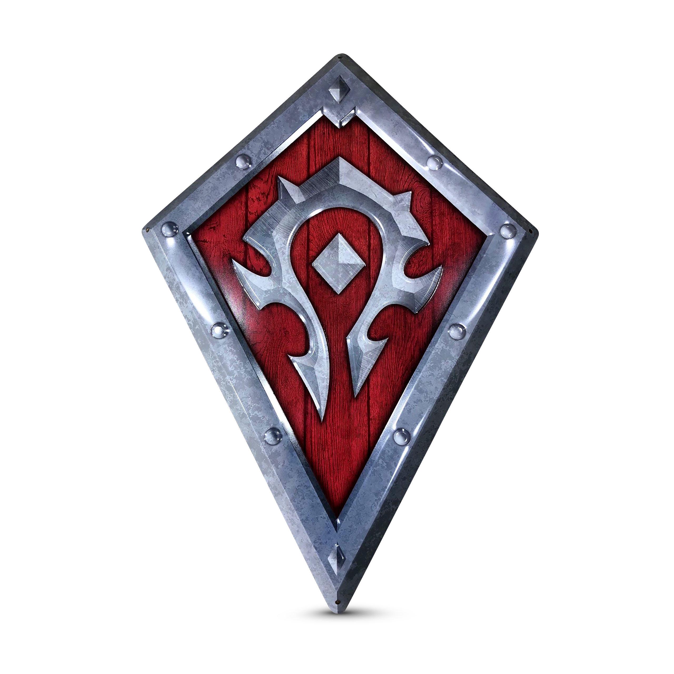 World of Warcraft - Horde Logo Metall Wappen
