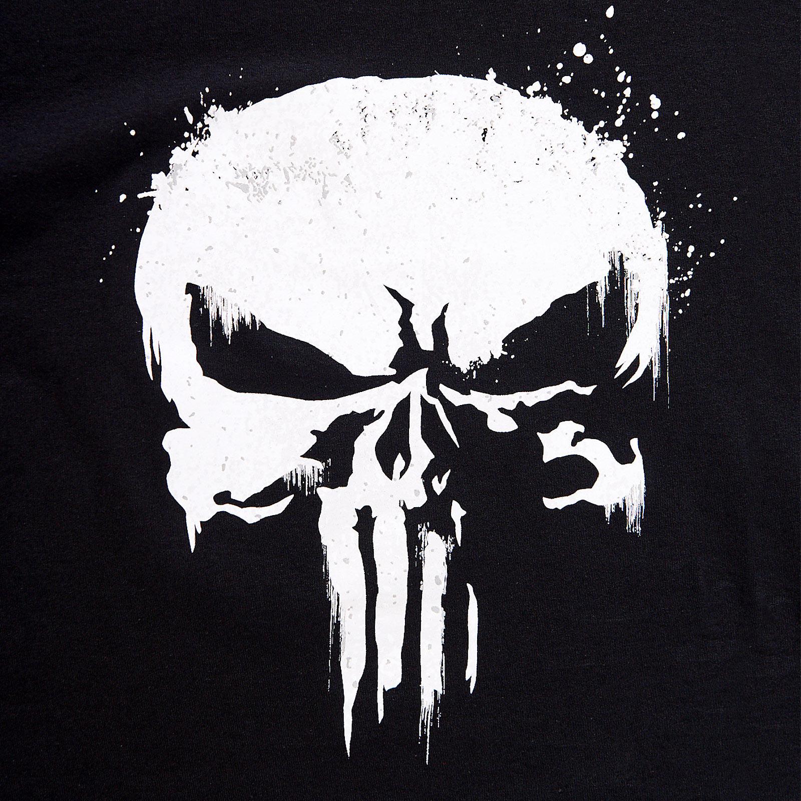 Punisher - Skull Logo T-Shirt schwarz