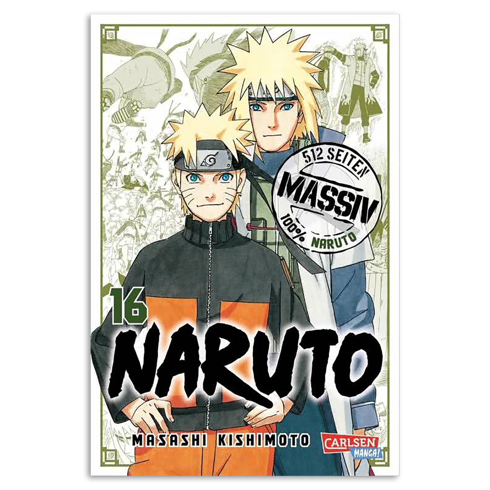 Naruto - Sammelband 16 Taschenbuch