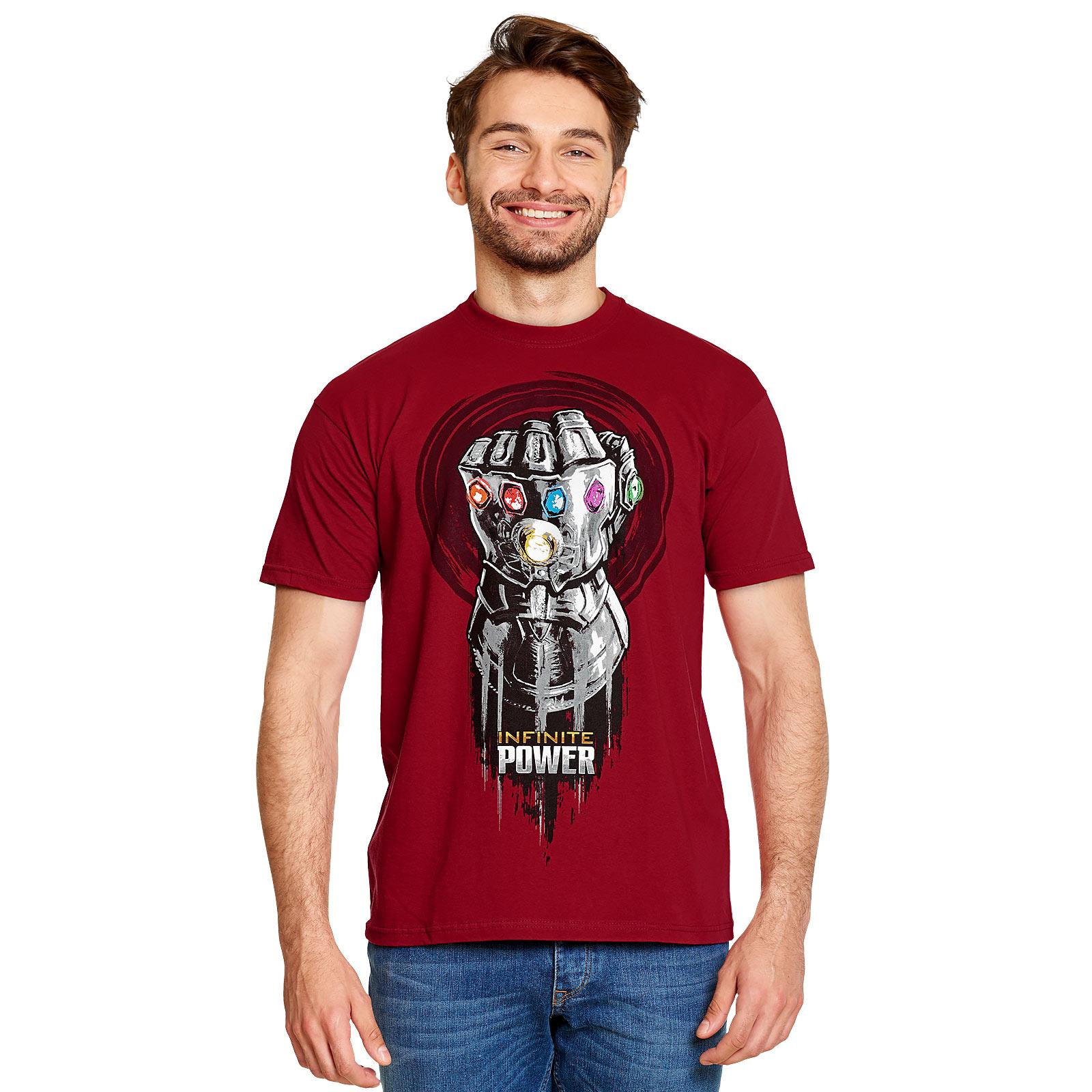 Avengers - Infinite Power T-Shirt rot