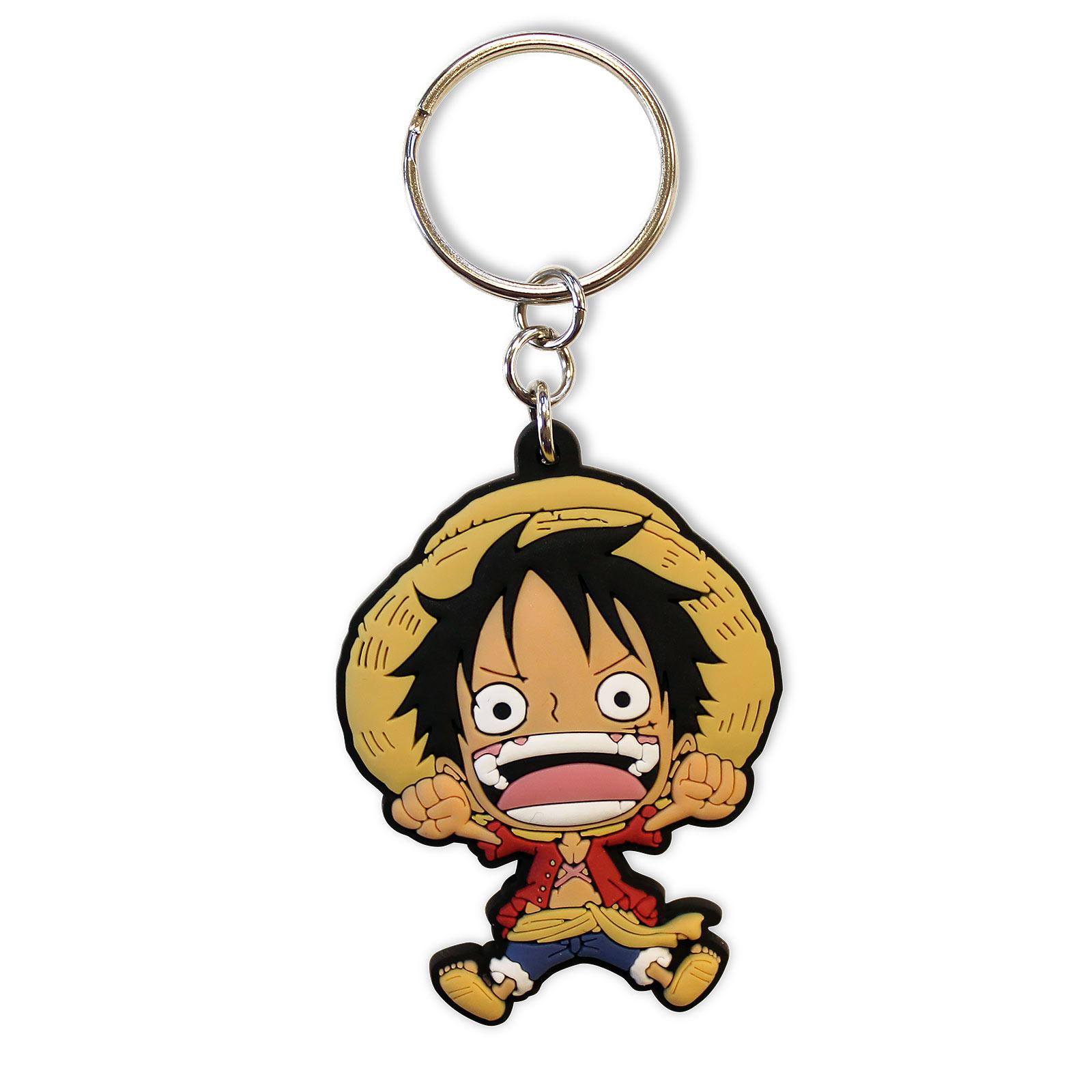 One Piece - Luffy Schlüsselanhänger