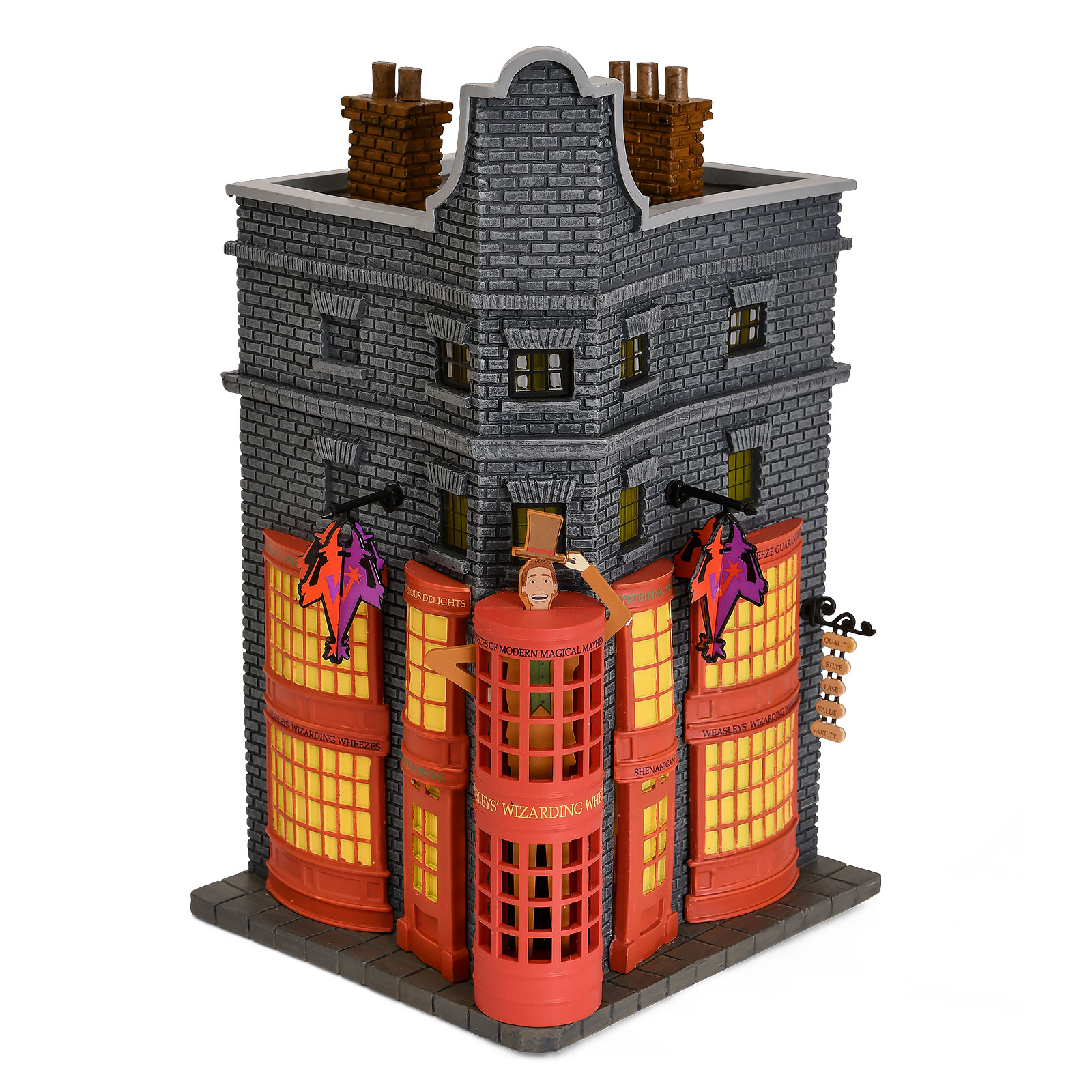 Weasleys Zauberhafte Zauberscherze Miniatur Replik mit Beleuchtung - Harry Potter