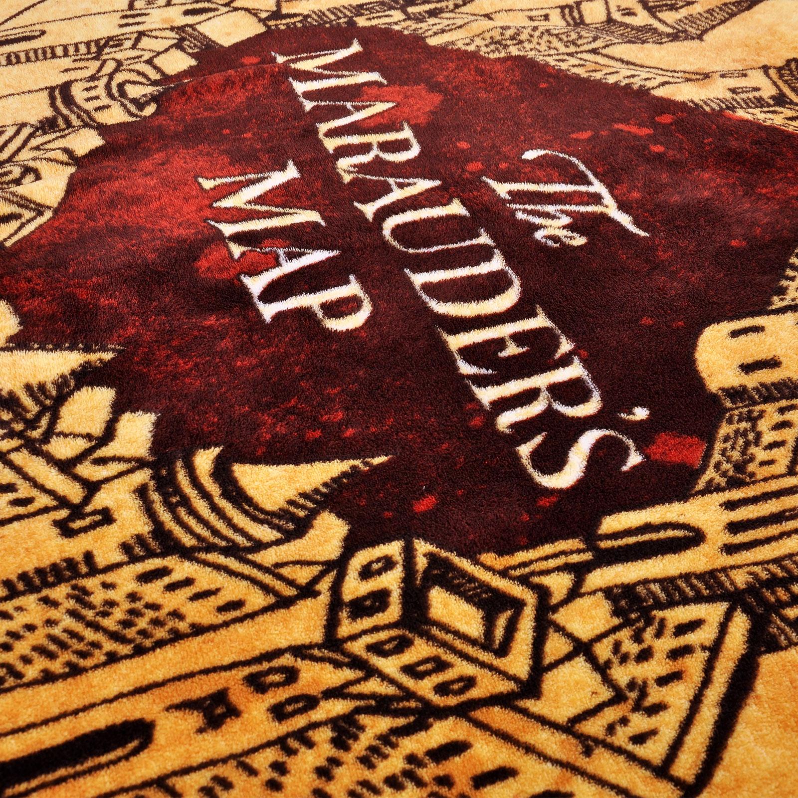 Harry Potter - Karte des Rumtreibers Flauschdecke
