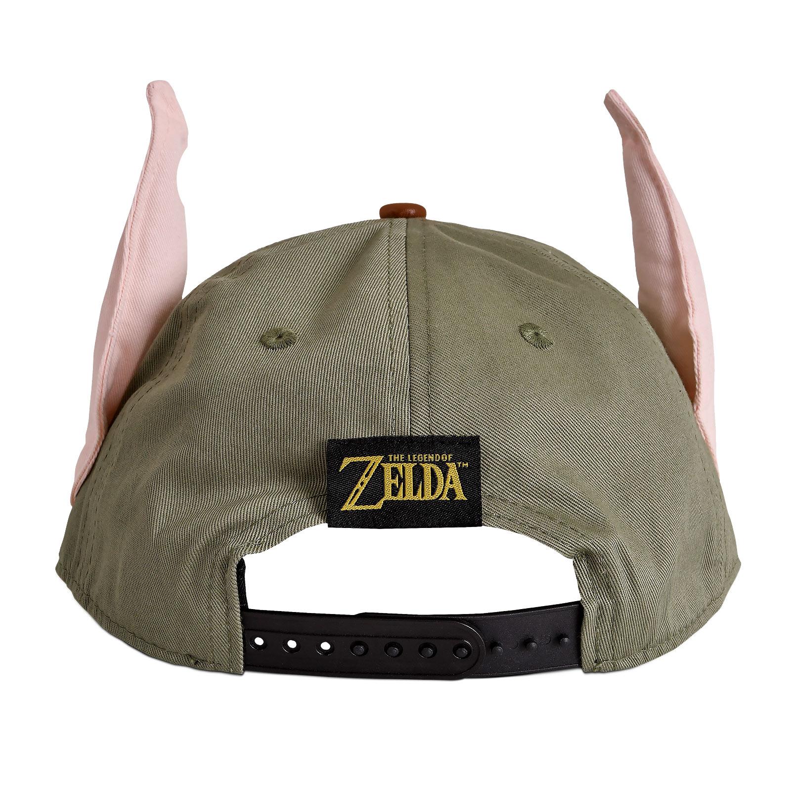 Zelda - Hyrule Logo Snapback Cap mit Link Ohren