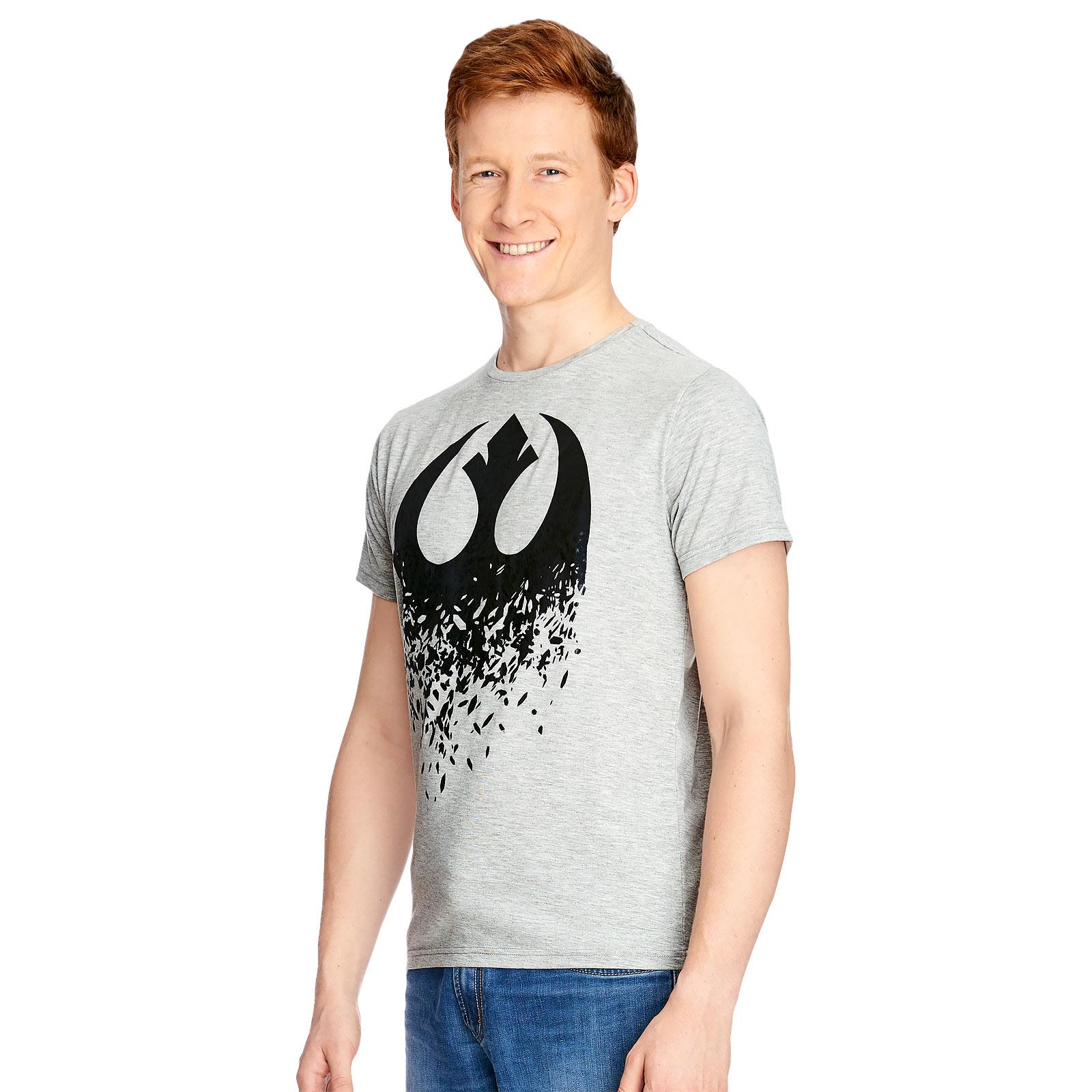 Star Wars - Rebellen Broken Logo T-Shirt