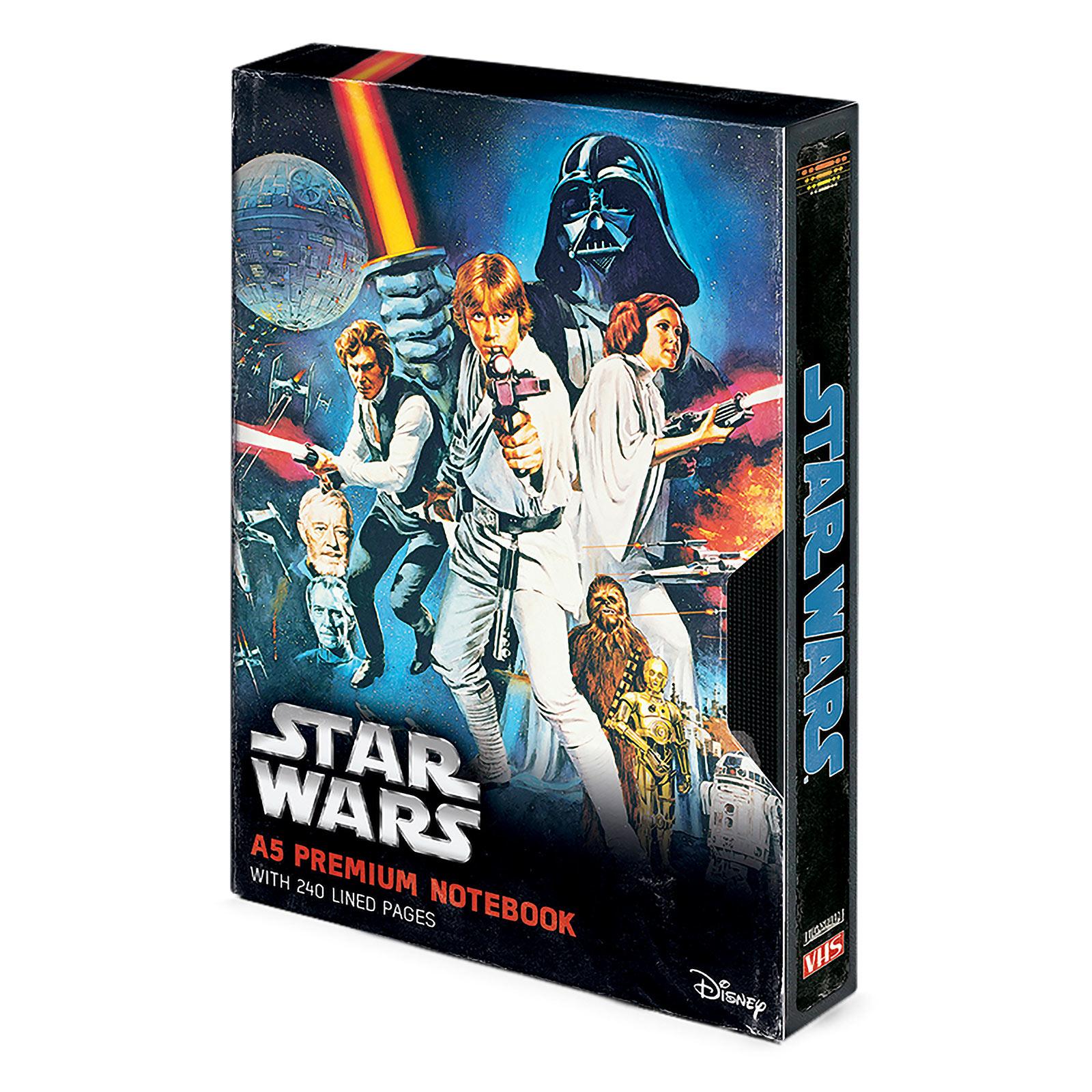 Star Wars - A New Hope Premium Notizbuch A5