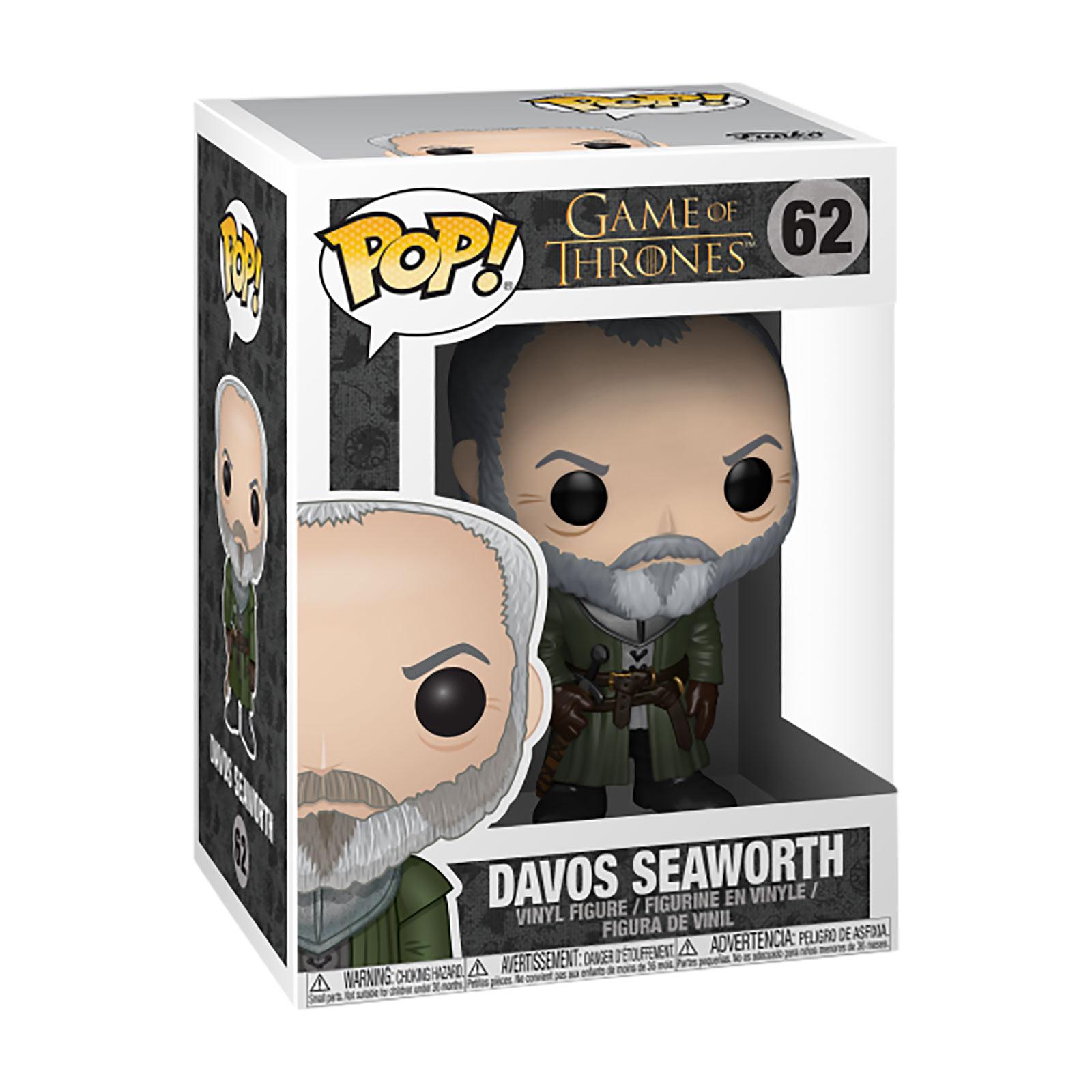 Game of Thrones - Davos Funko Pop Figur