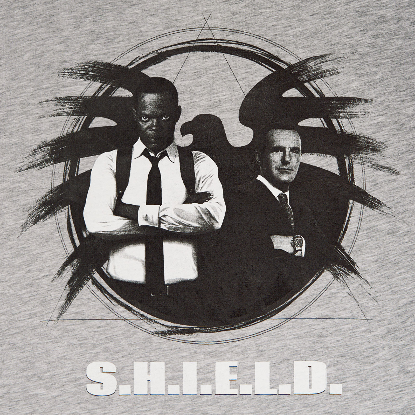 Captain Marvel - S.H.I.E.L.D. Agents T-Shirt grau