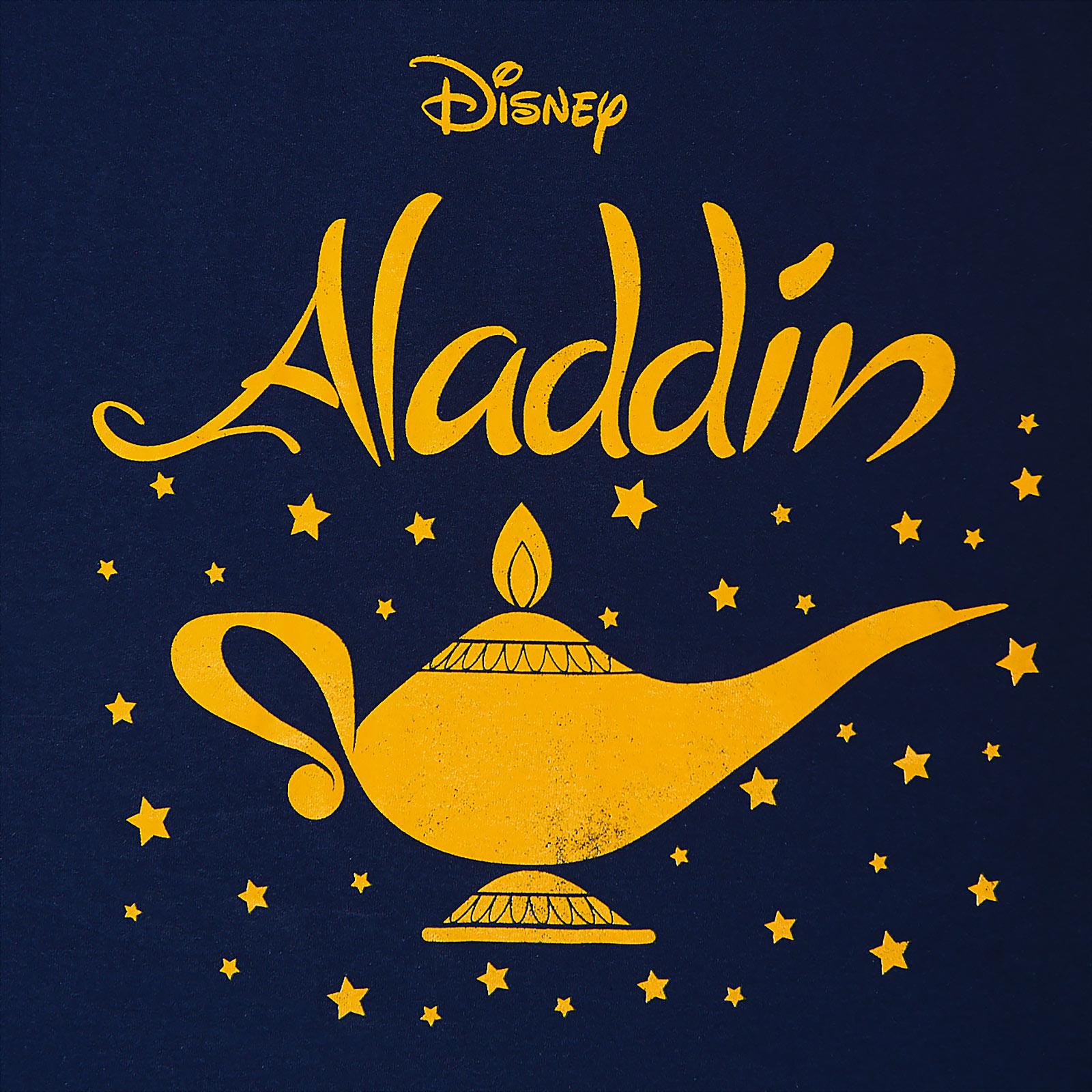 Aladdin - Wunderlampe T-Shirt Damen blau
