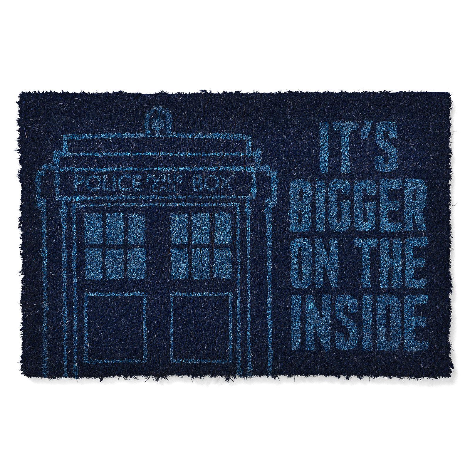 Doctor Who - Tardis Fußmatte blau