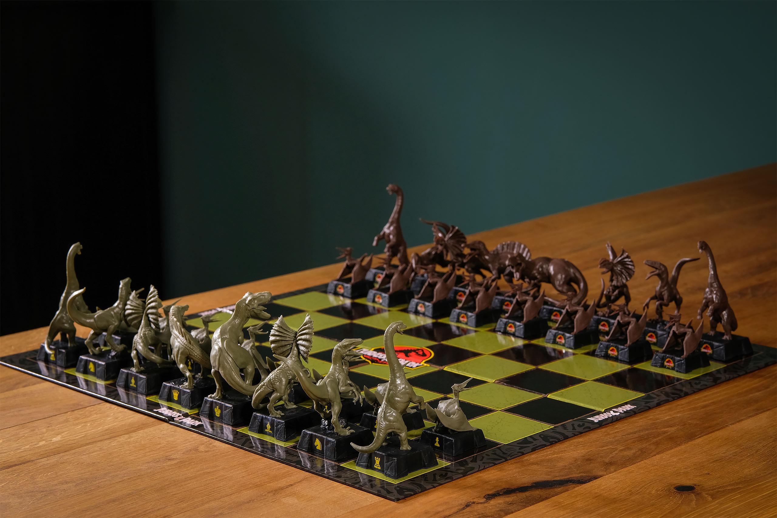 Jurassic Park Schachspiel