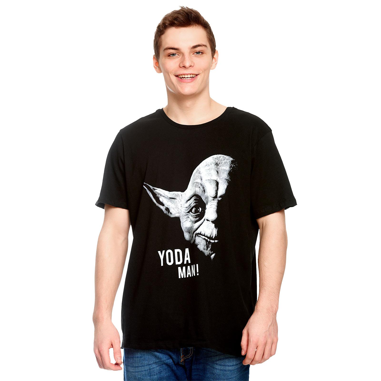 Star Wars - Yoda Man! T-Shirt schwarz