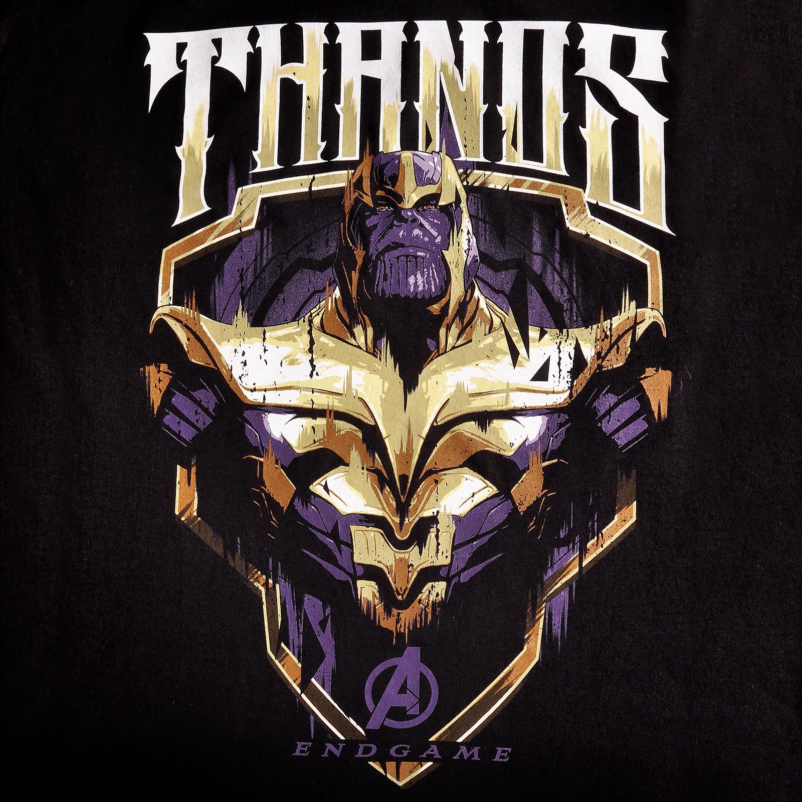 Avengers - Thanos T-Shirt schwarz