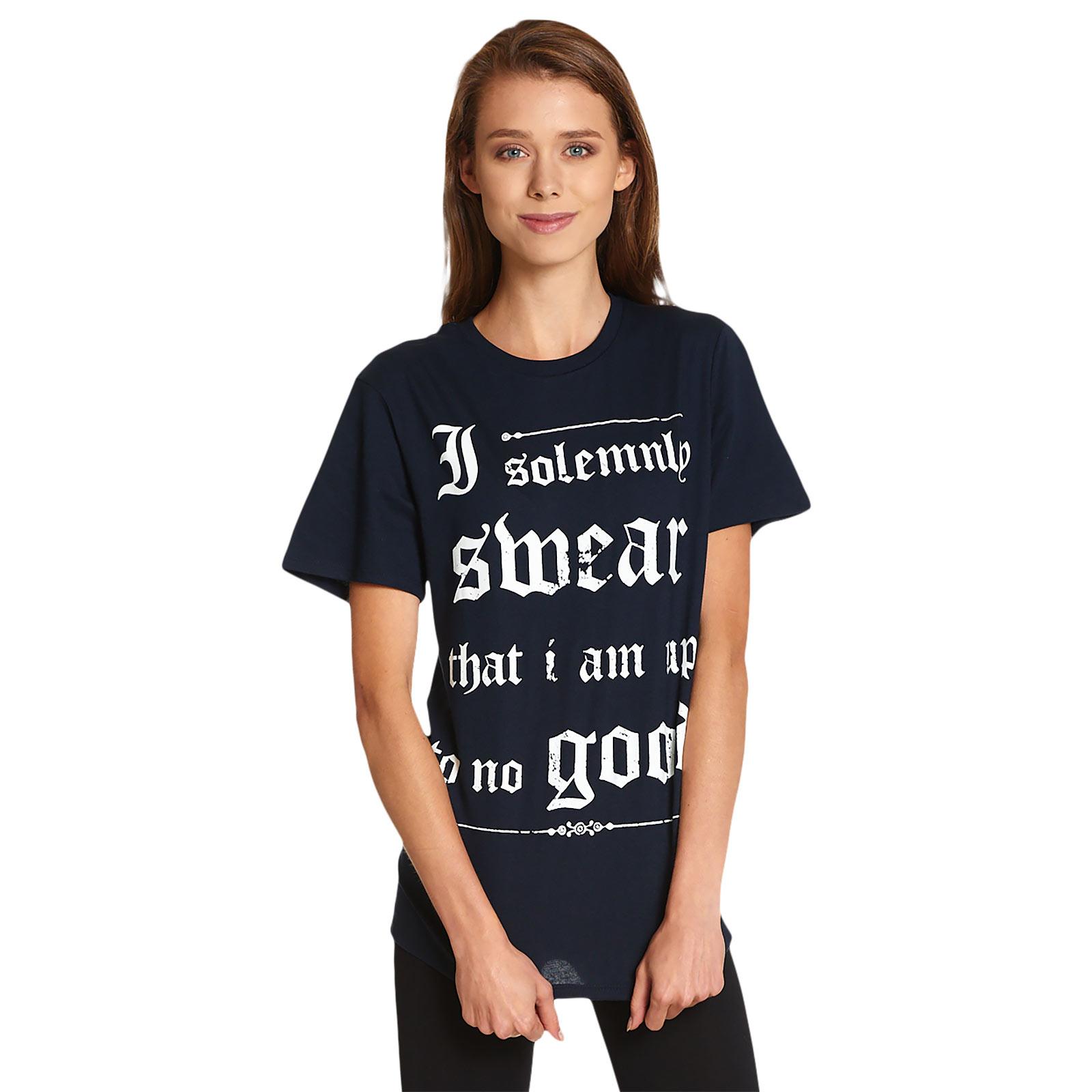 Harry Potter - Up To No Good T-Shirt blau