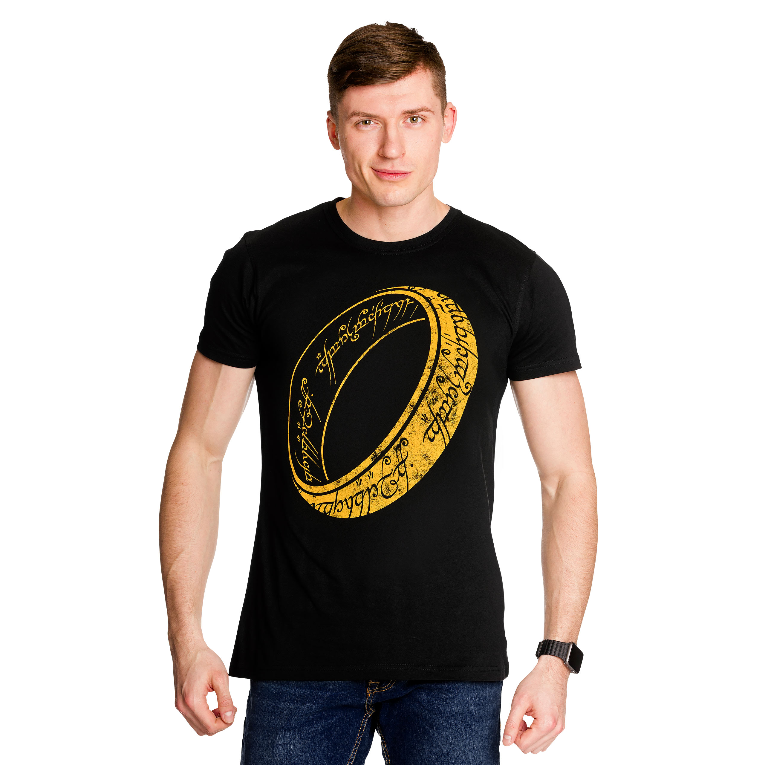 Herr der Ringe - One Ring to Rule T-Shirt schwarz