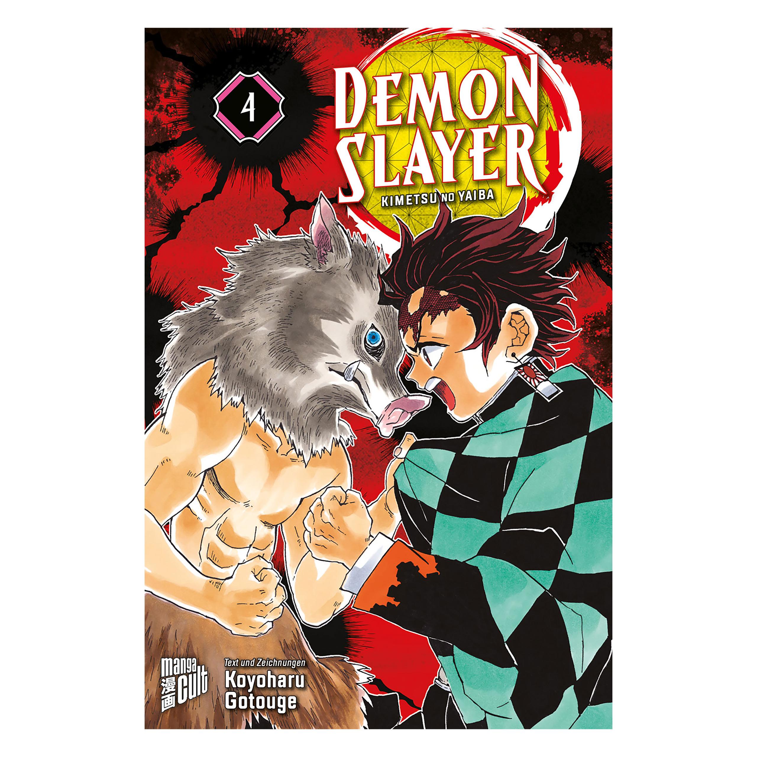 Demon Slayer - Kimetsu no yaiba Band 4 Taschenbuch