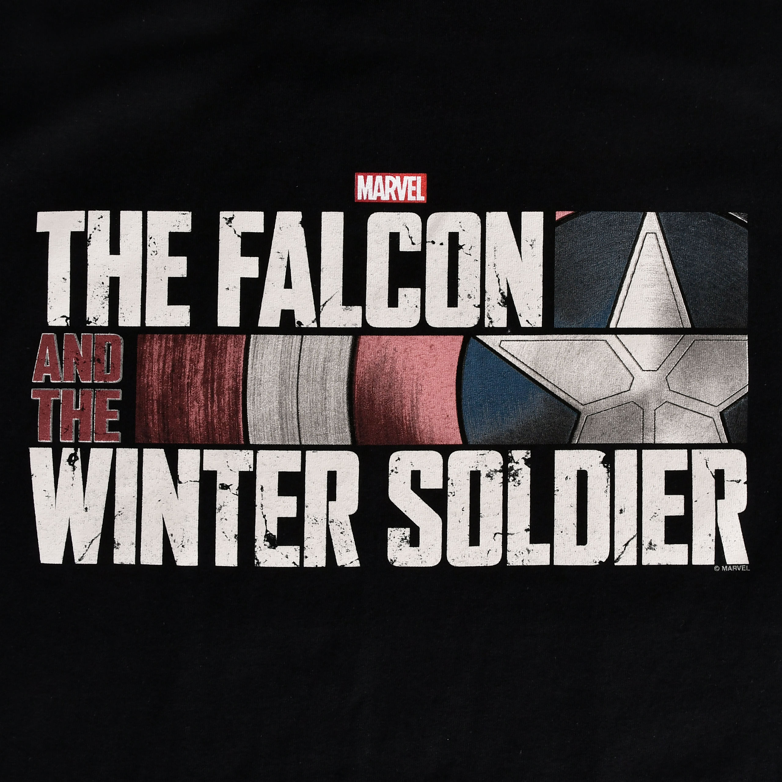 The Falcon and the Winter Soldier - Logo T-Shirt schwarz