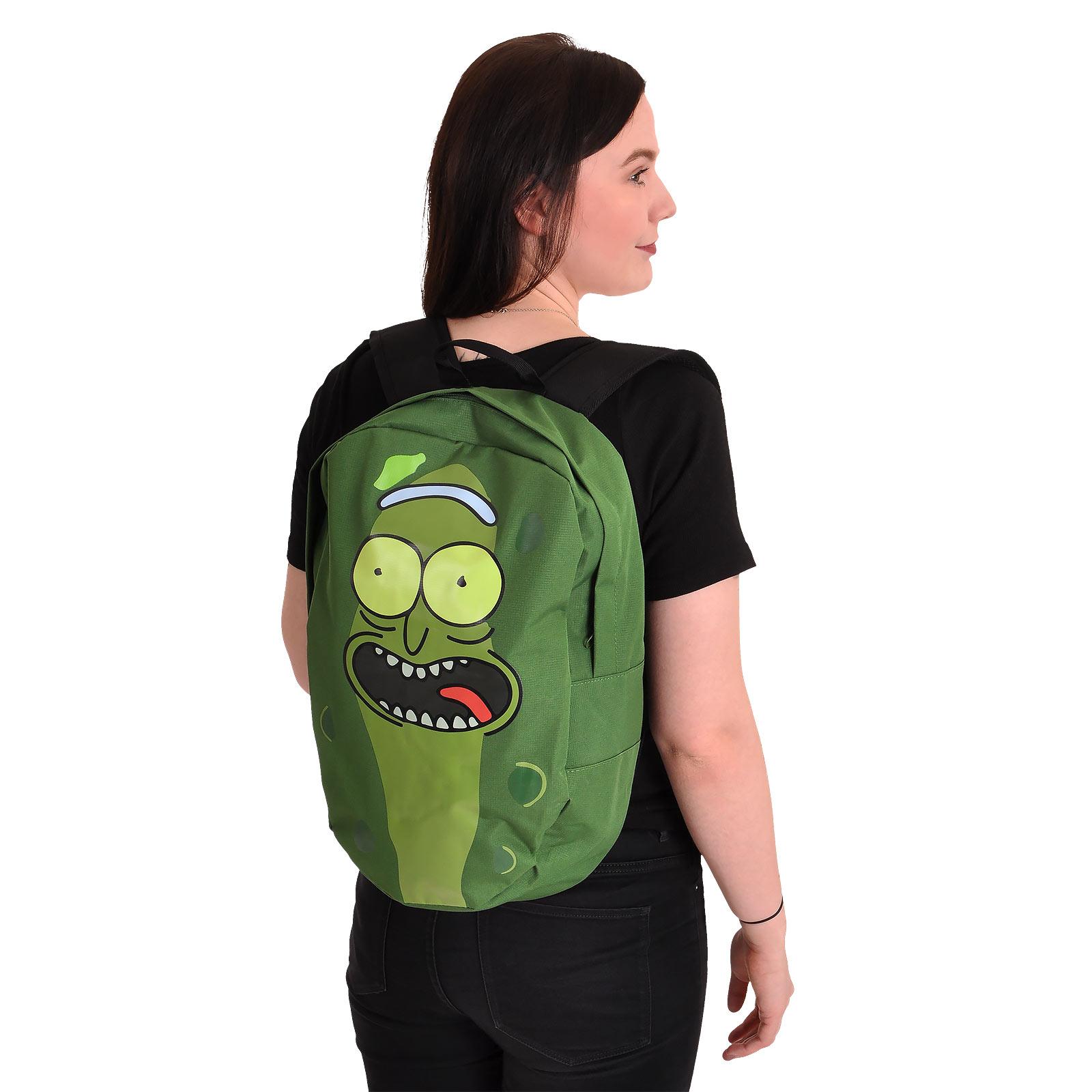 Rick and Morty - Pickle Rick Rucksack grün