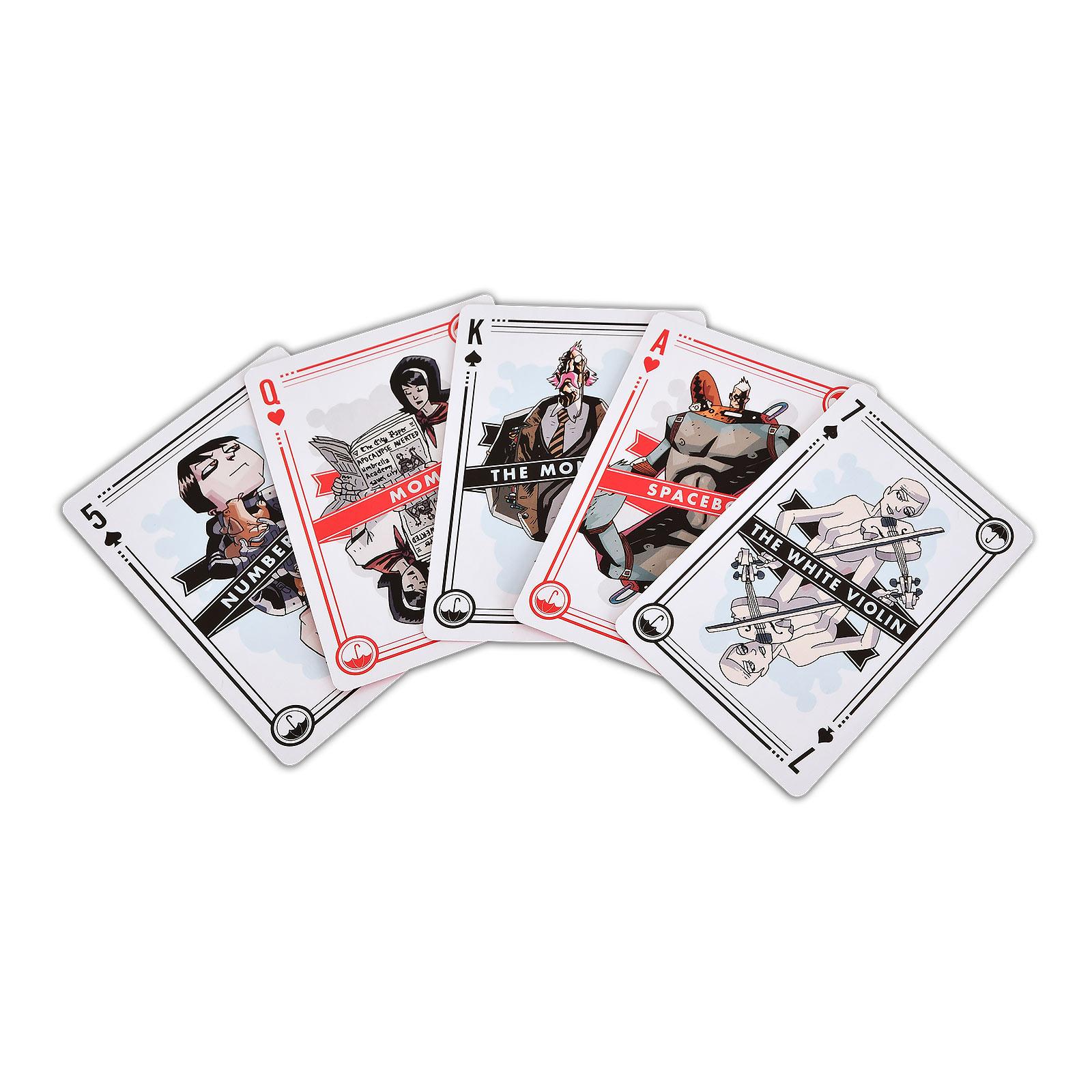 The Umbrella Academy Spielkarten