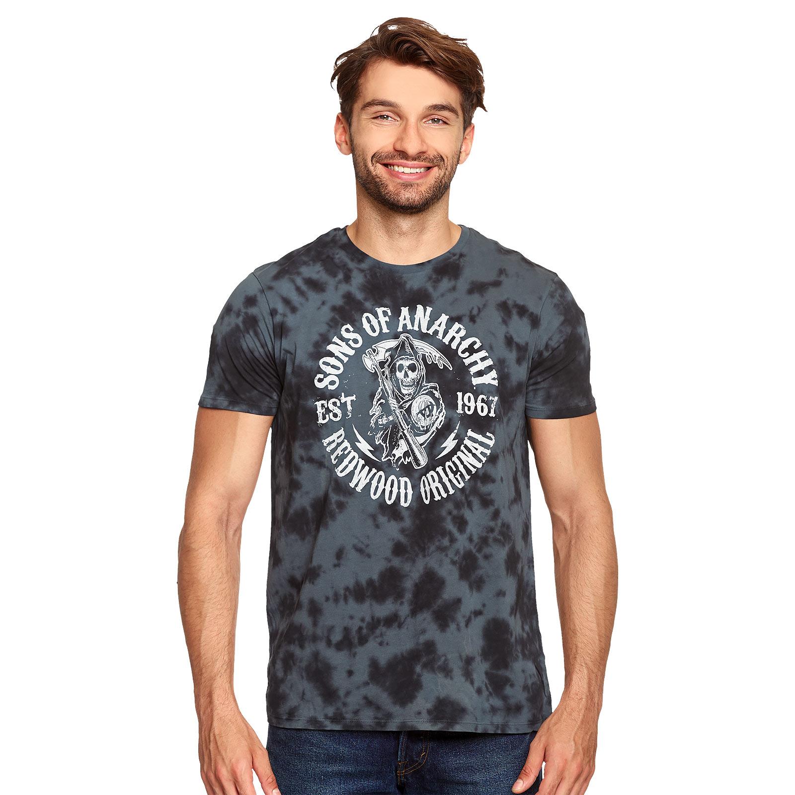 Sons of Anarchy - Reaper Logo T-Shirt grau