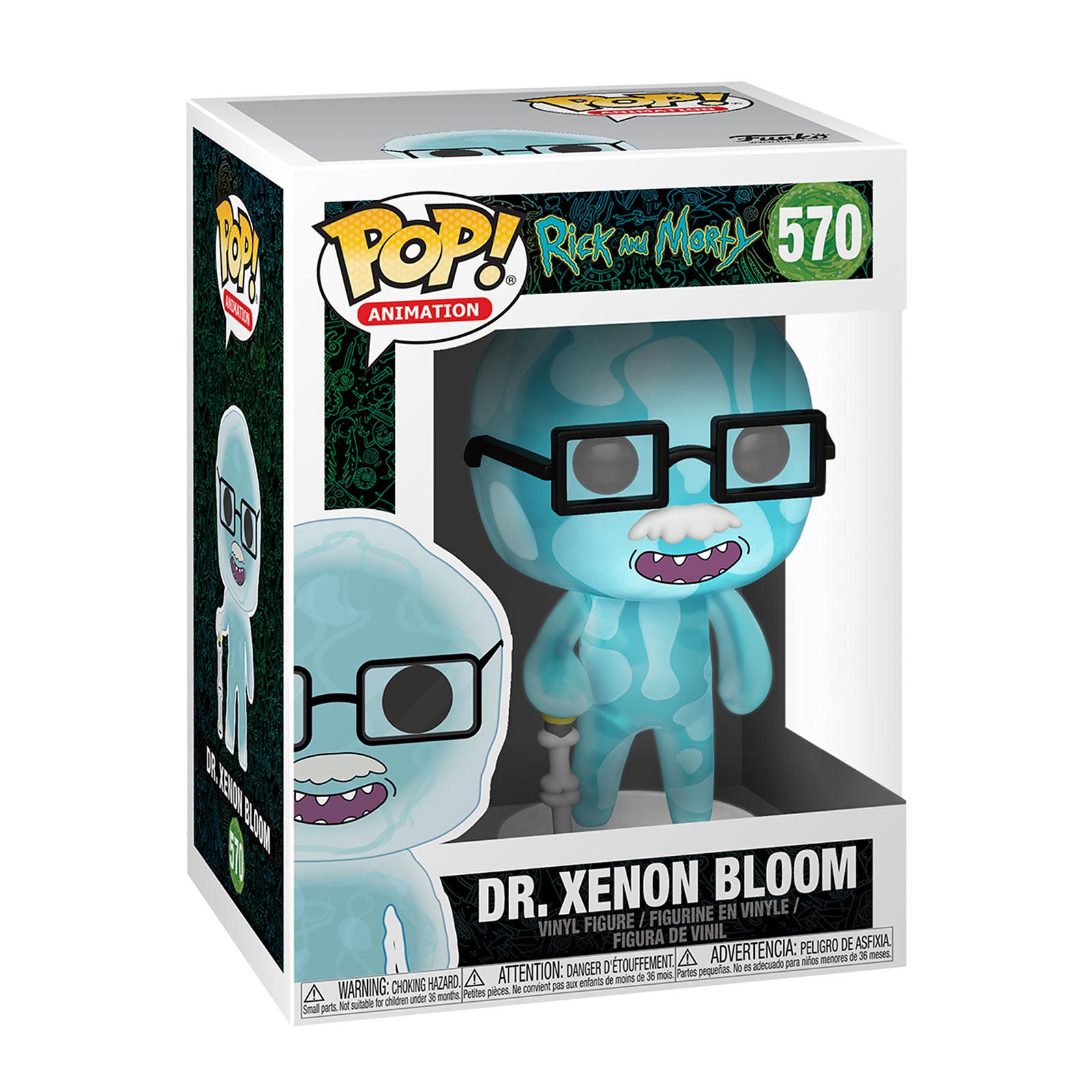 Rick and Morty - Dr. Xenon Bloom Glow in the Dark Funko Pop Figur