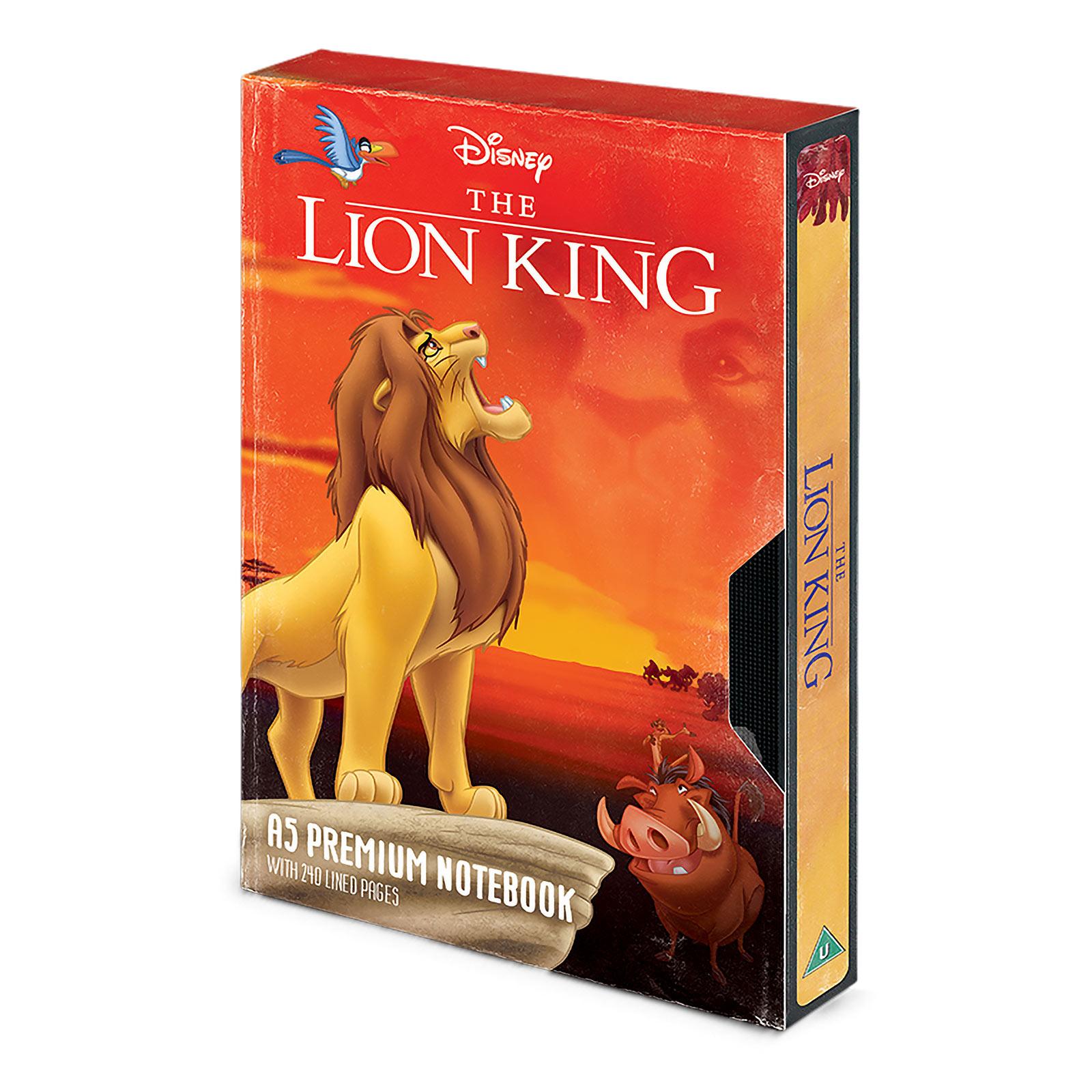 König der Löwen - Circle of Life VHS Premium Notizbuch A5