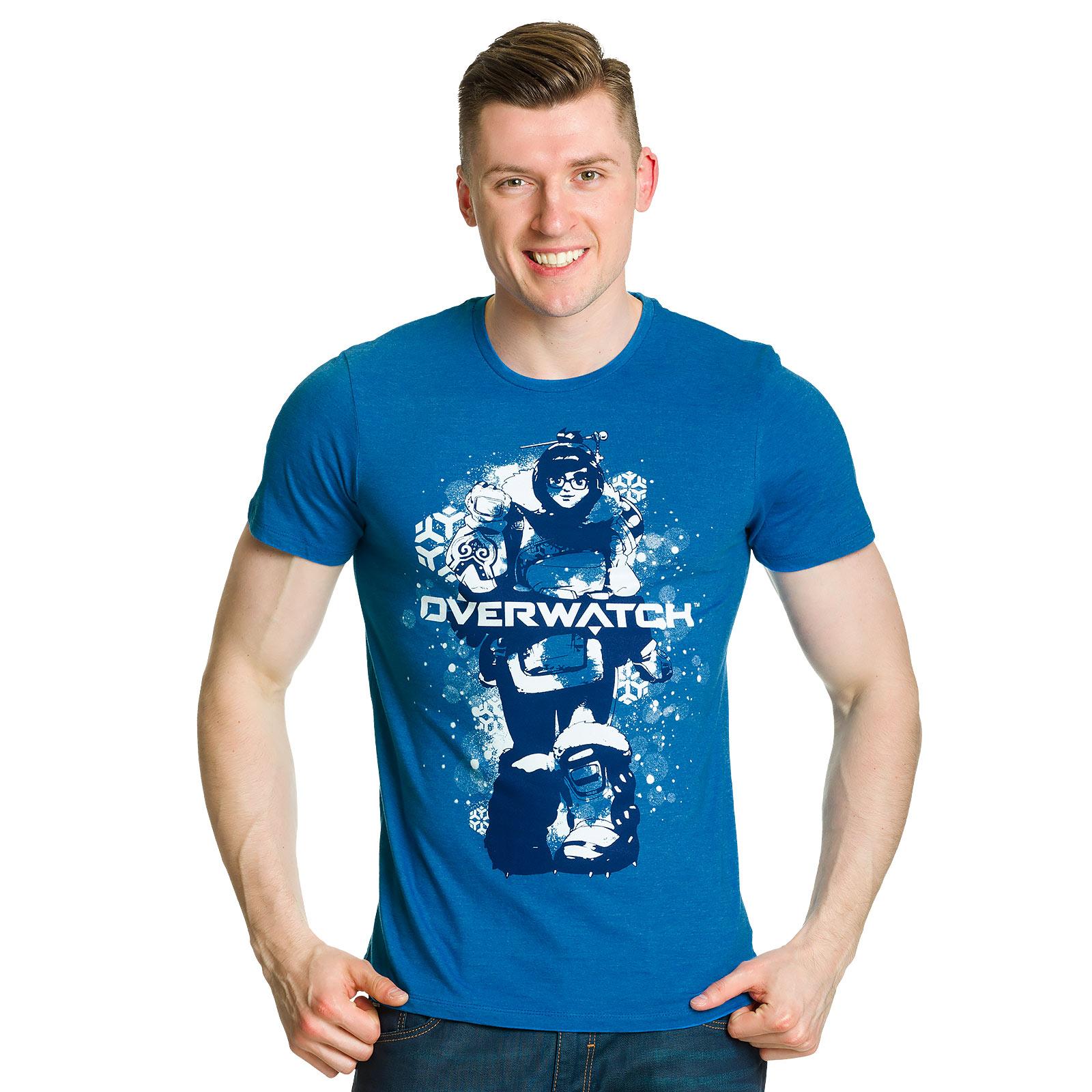 Overwatch - Mei T-Shirt blau