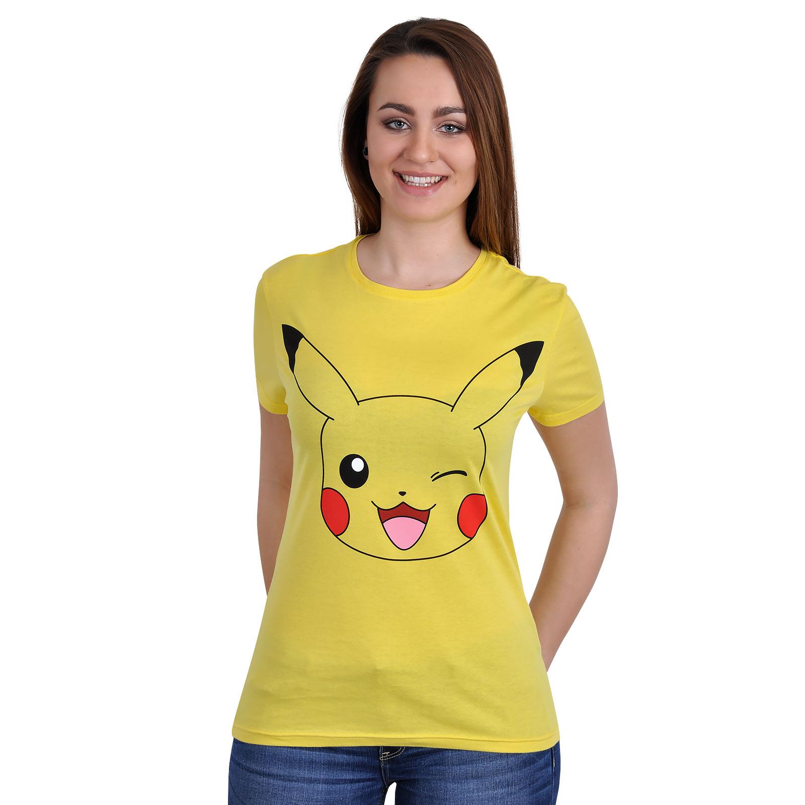 Pokemon - Pikachu T-Shirt gelb