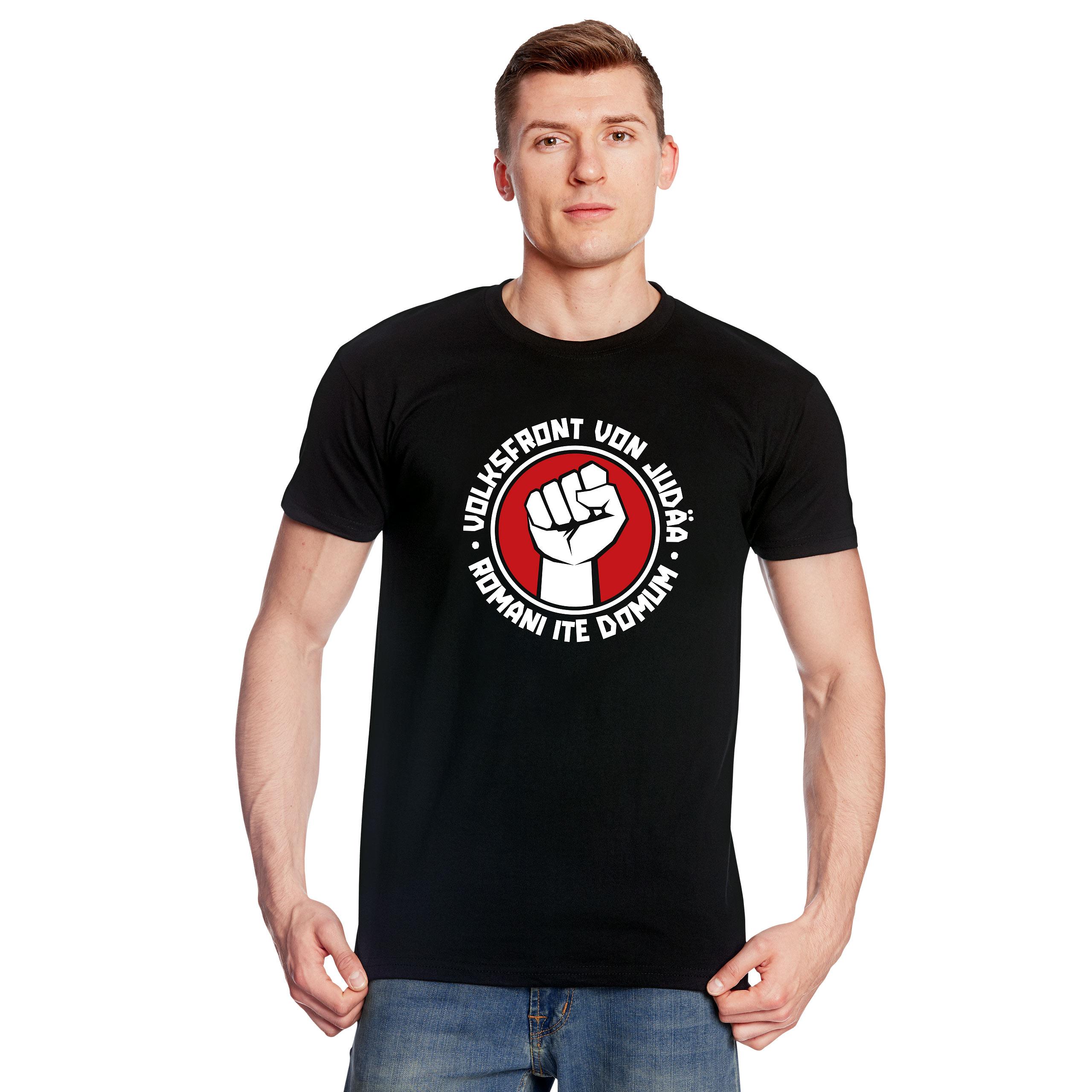 Volksfront von Judäa T-Shirt für Monty Python Fans schwarz