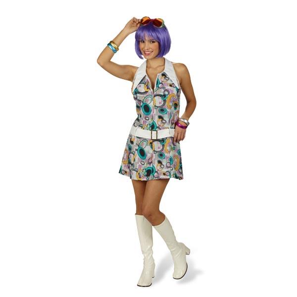 Retro-Kleid Eclipse mit Gürtel