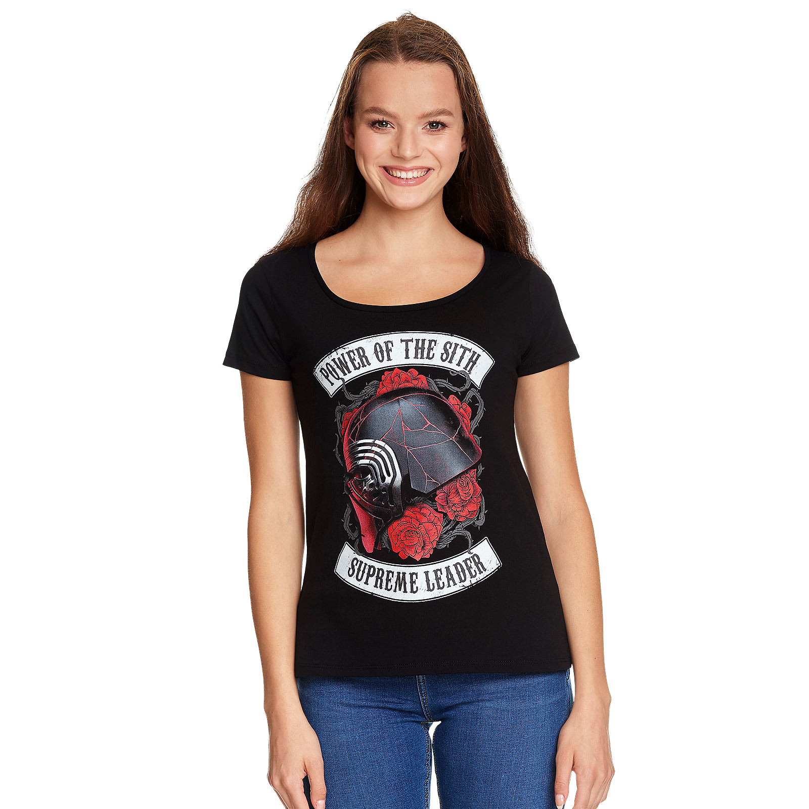 Star Wars - Power of the Sith T-Shirt Damen schwarz