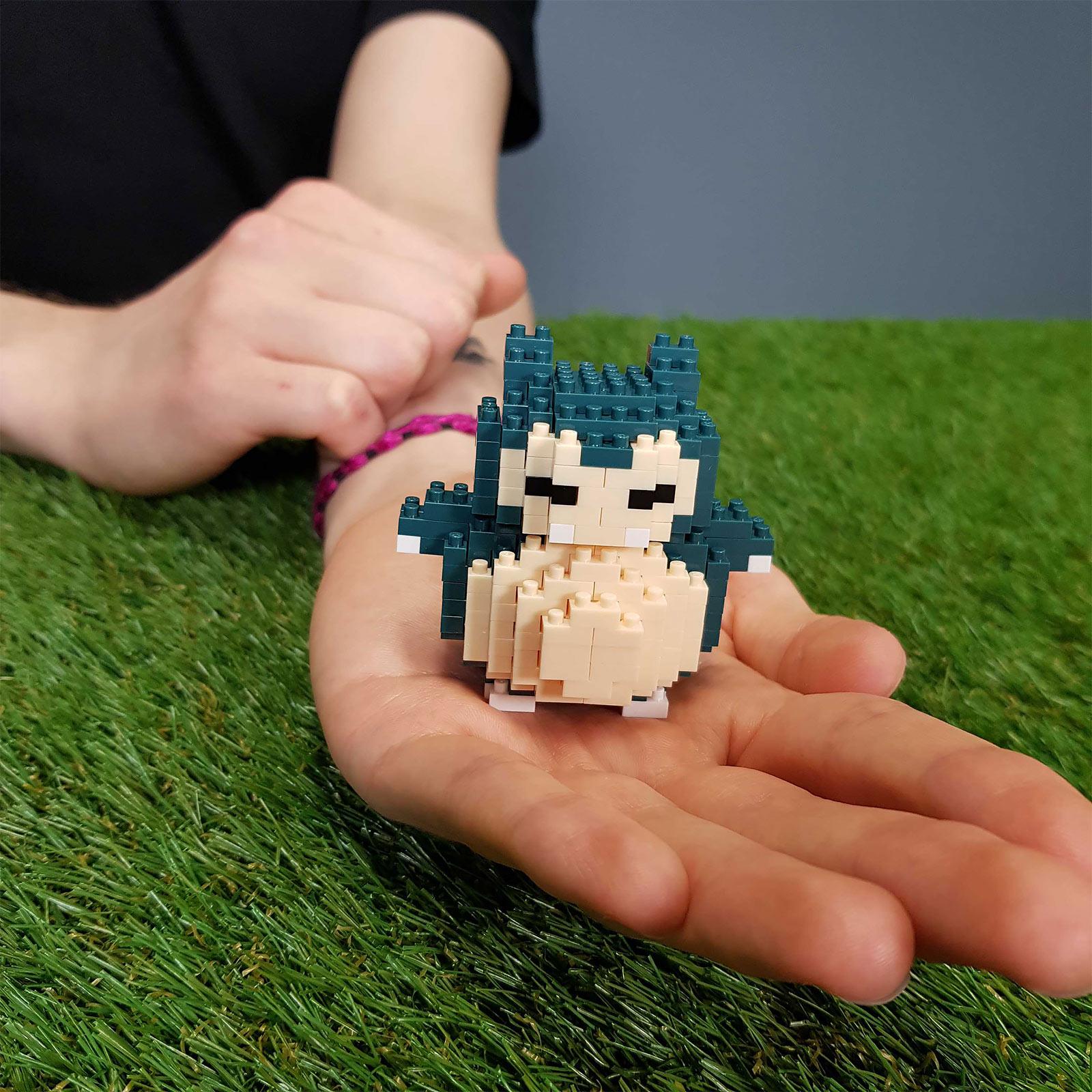 Pokemon - Relaxo nanoblock Mini Baustein Figur